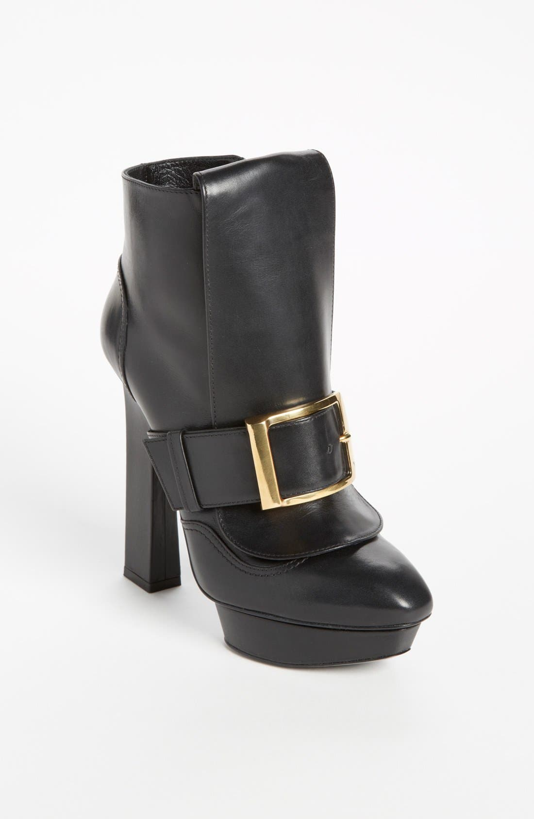 Alternate Image 1 Selected - Alexander McQueen Buckle Boot