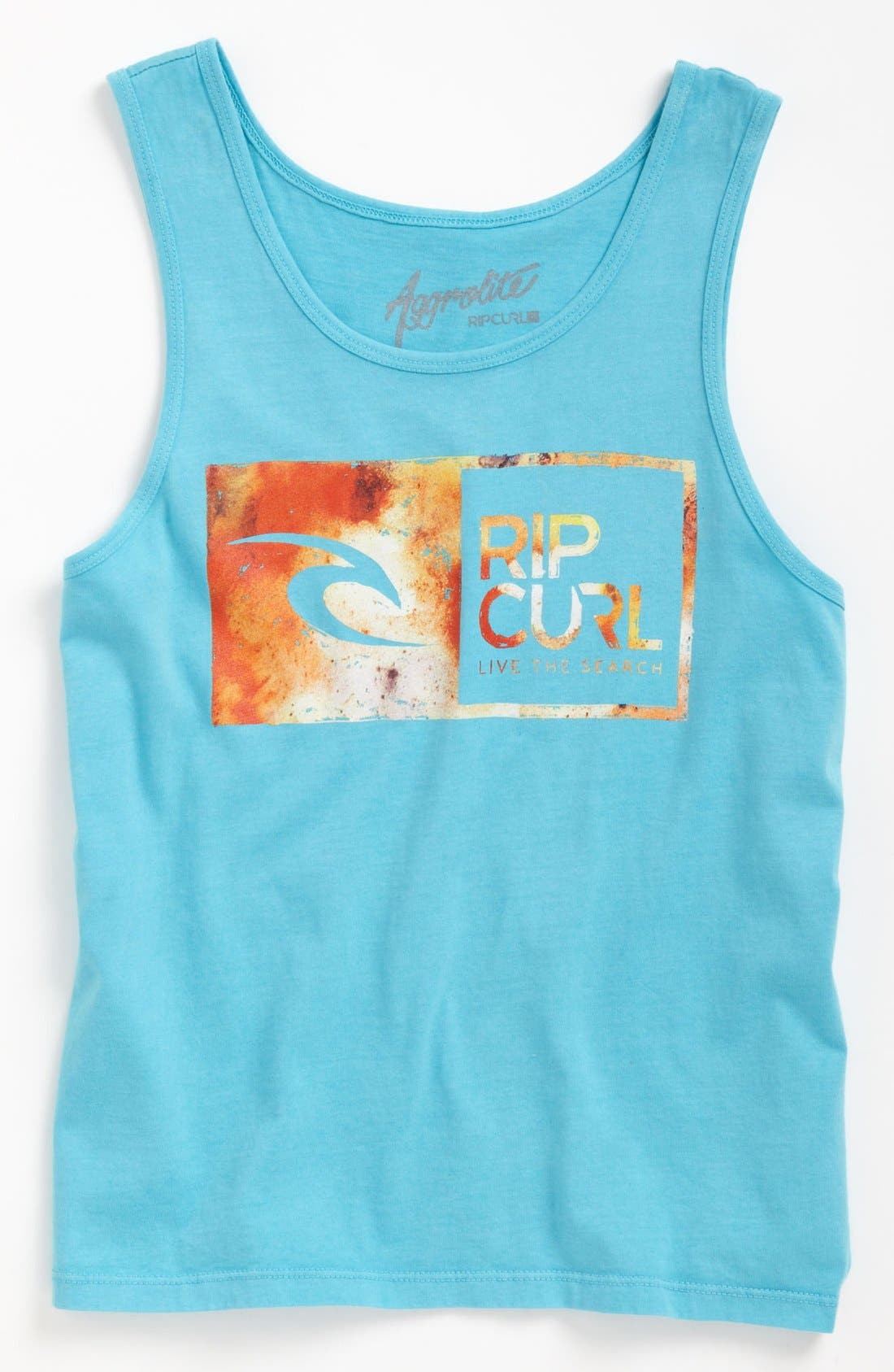 Alternate Image 1 Selected - Rip Curl Screenprint Tank (Big Boys)