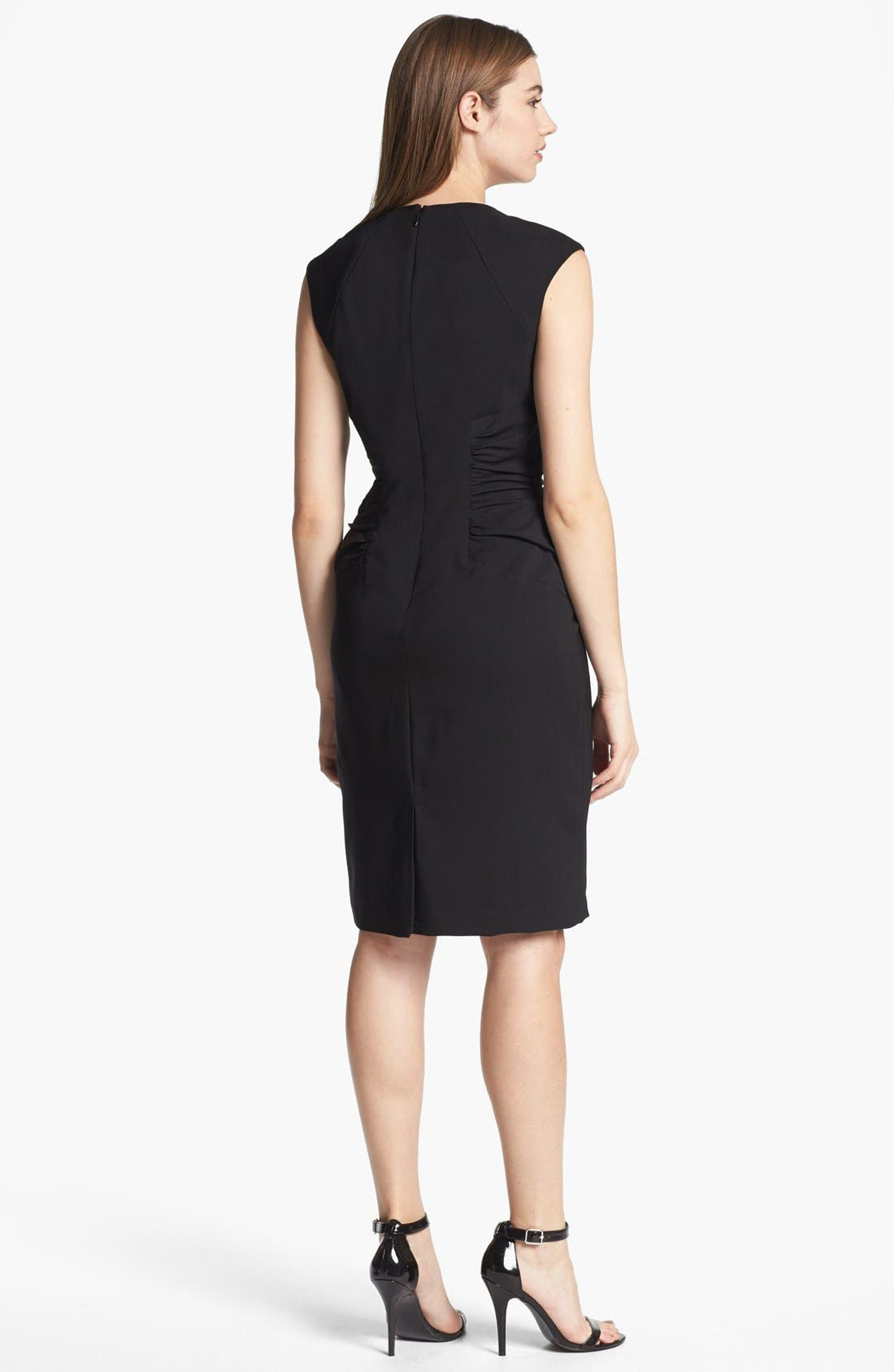 Alternate Image 2  - Adrianna Papell Ruched Sheath Dress