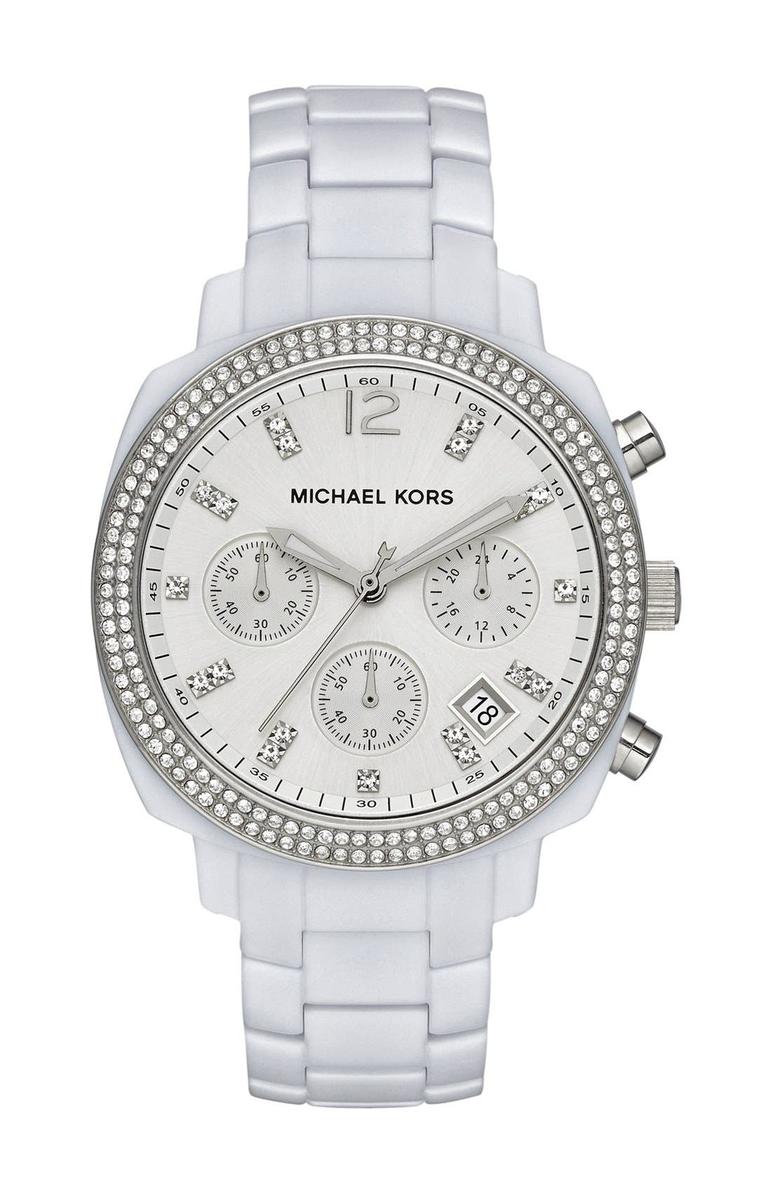 Main Image - Michael Kors 'Wolcott' Chronograph Bracelet Watch, 41mm
