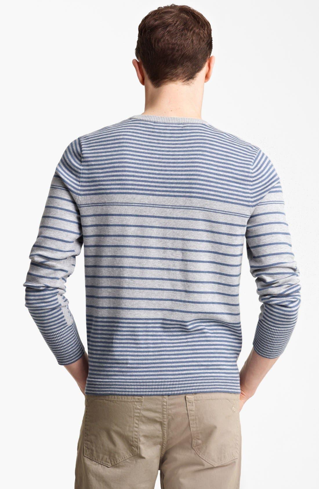 Alternate Image 2  - rag & bone 'Frankie' Crewneck Sweatshirt