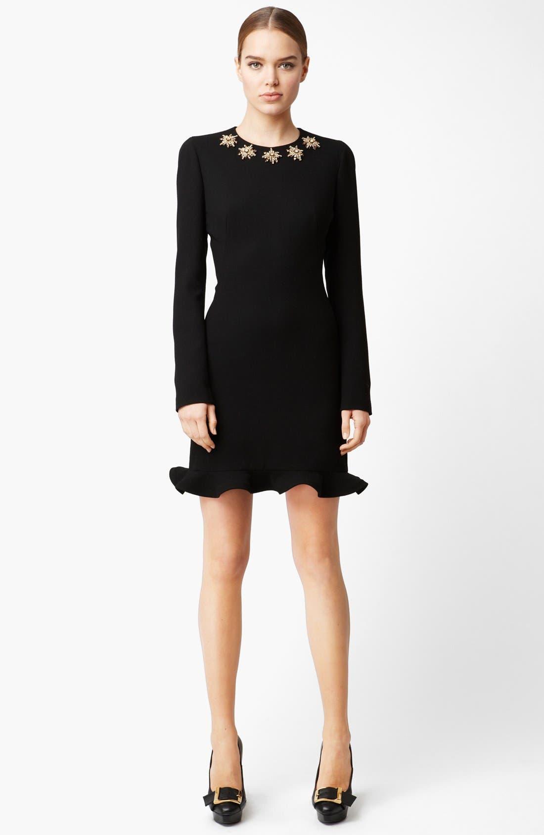 Alternate Image 1 Selected - Alexander McQueen Dress & Accessories