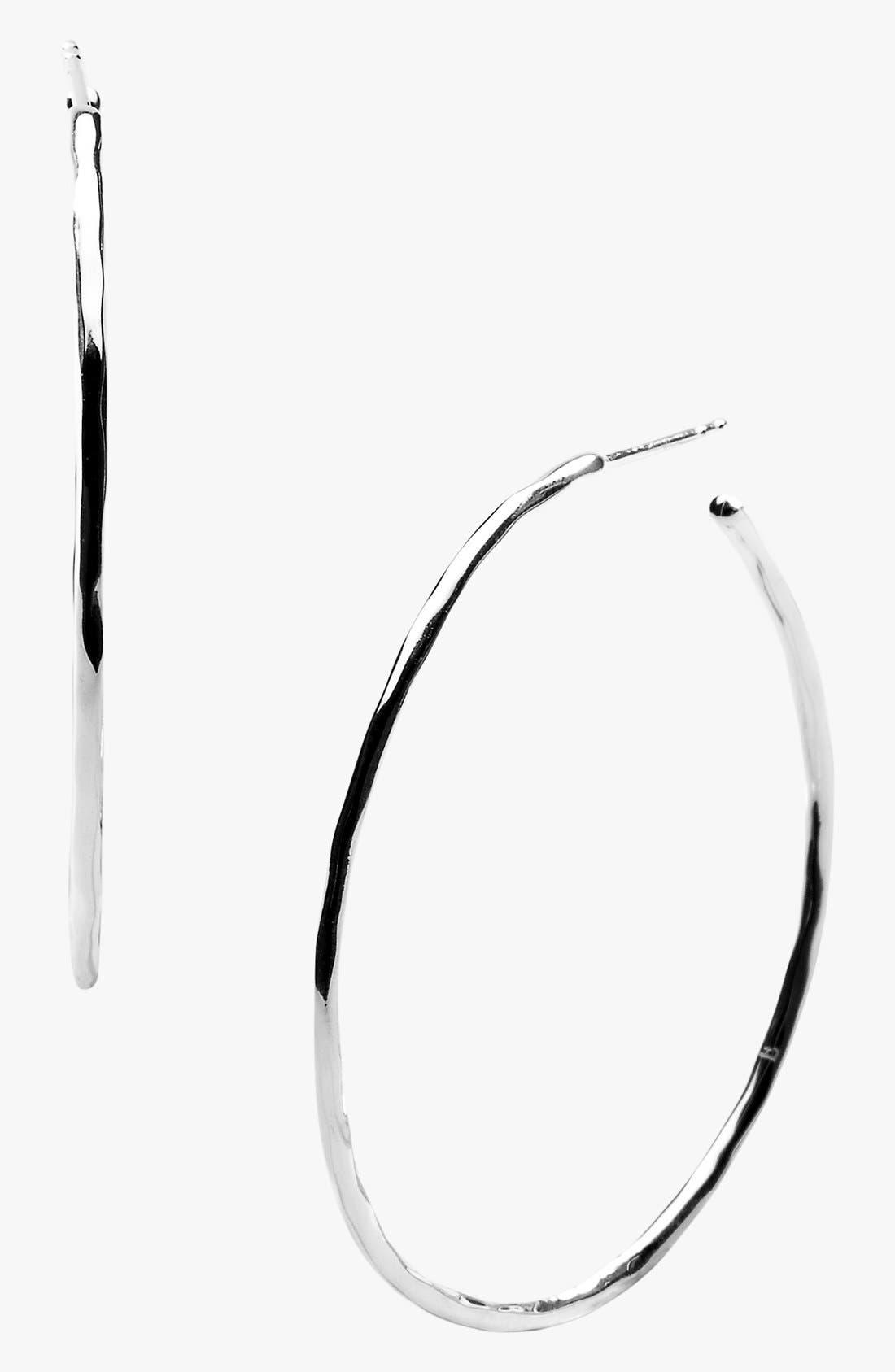 Alternate Image 1 Selected - Ippolita 'Shiny Squiggle' Hoop Earrings