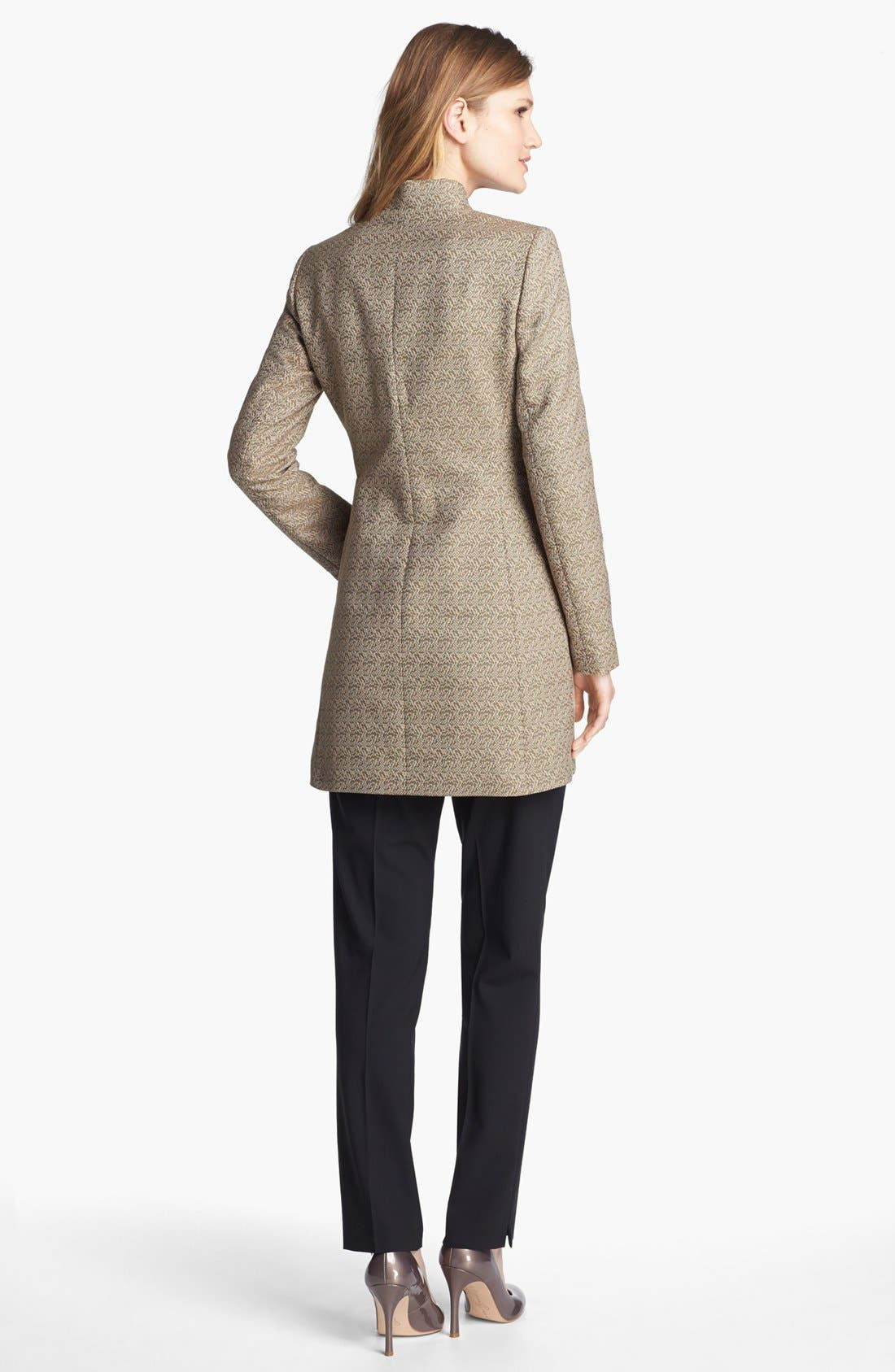 Alternate Image 5  - Lafayette 148 New York 'Idealist' Herringbone Topper