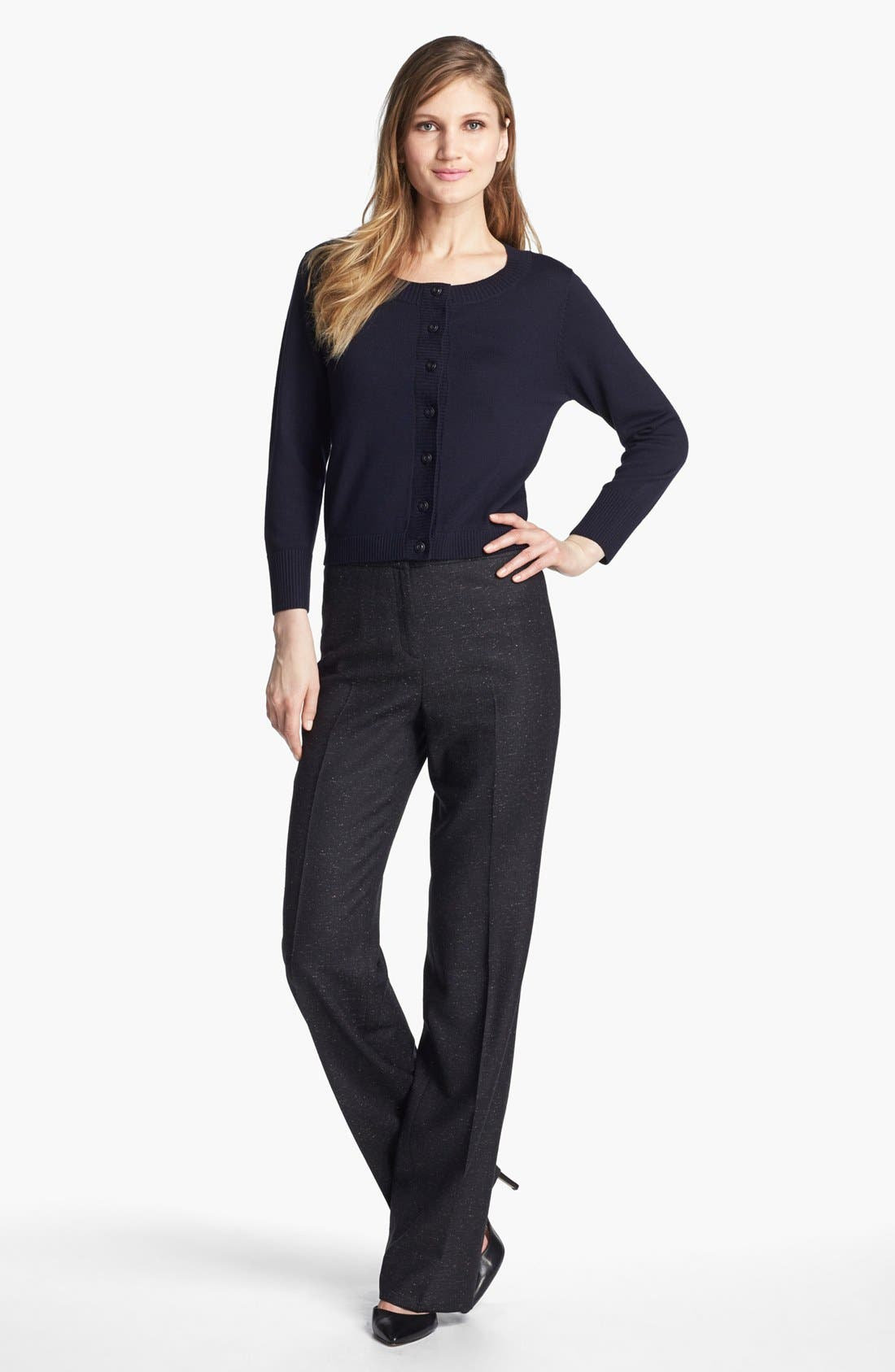 Alternate Image 4  - Santorelli 'Mara' Tweed Trousers