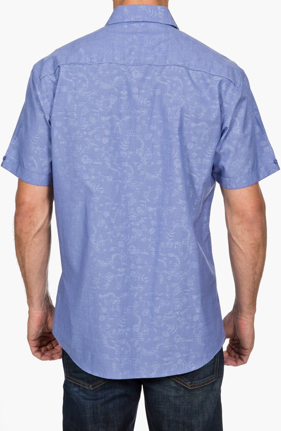 Alternate Image 2  - Zagiri Regular Fit Short Sleeve Sport Shirt