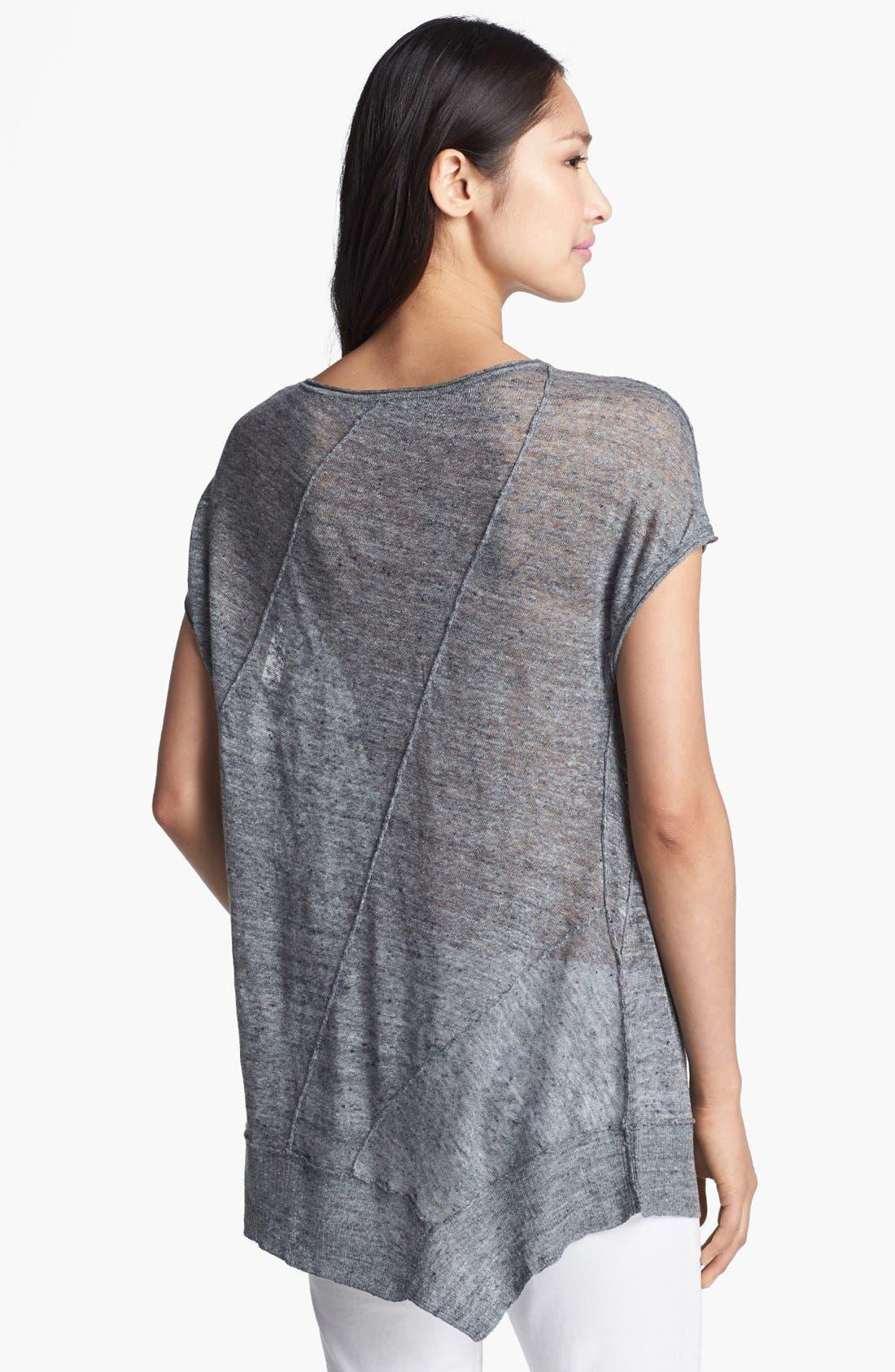 Alternate Image 2  - Eileen Fisher Linen Mélange Jersey Top