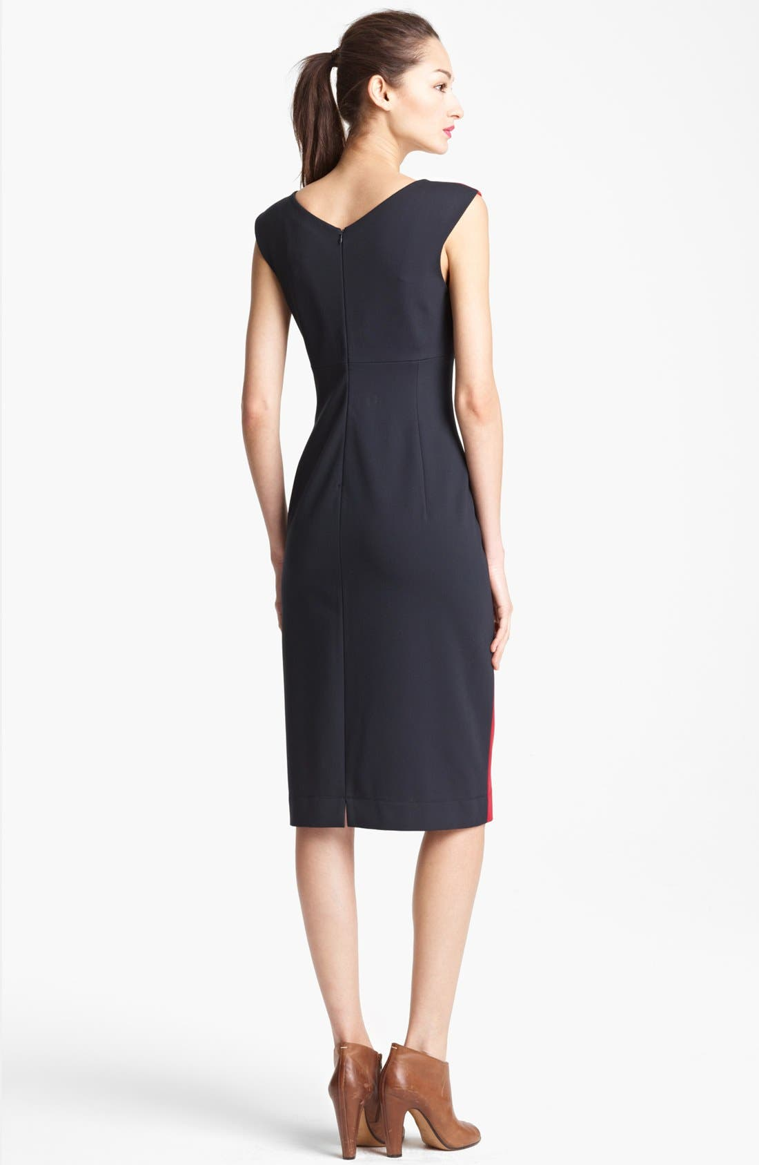 Alternate Image 2  - Lida Baday Sleeveless Colorblock Dress