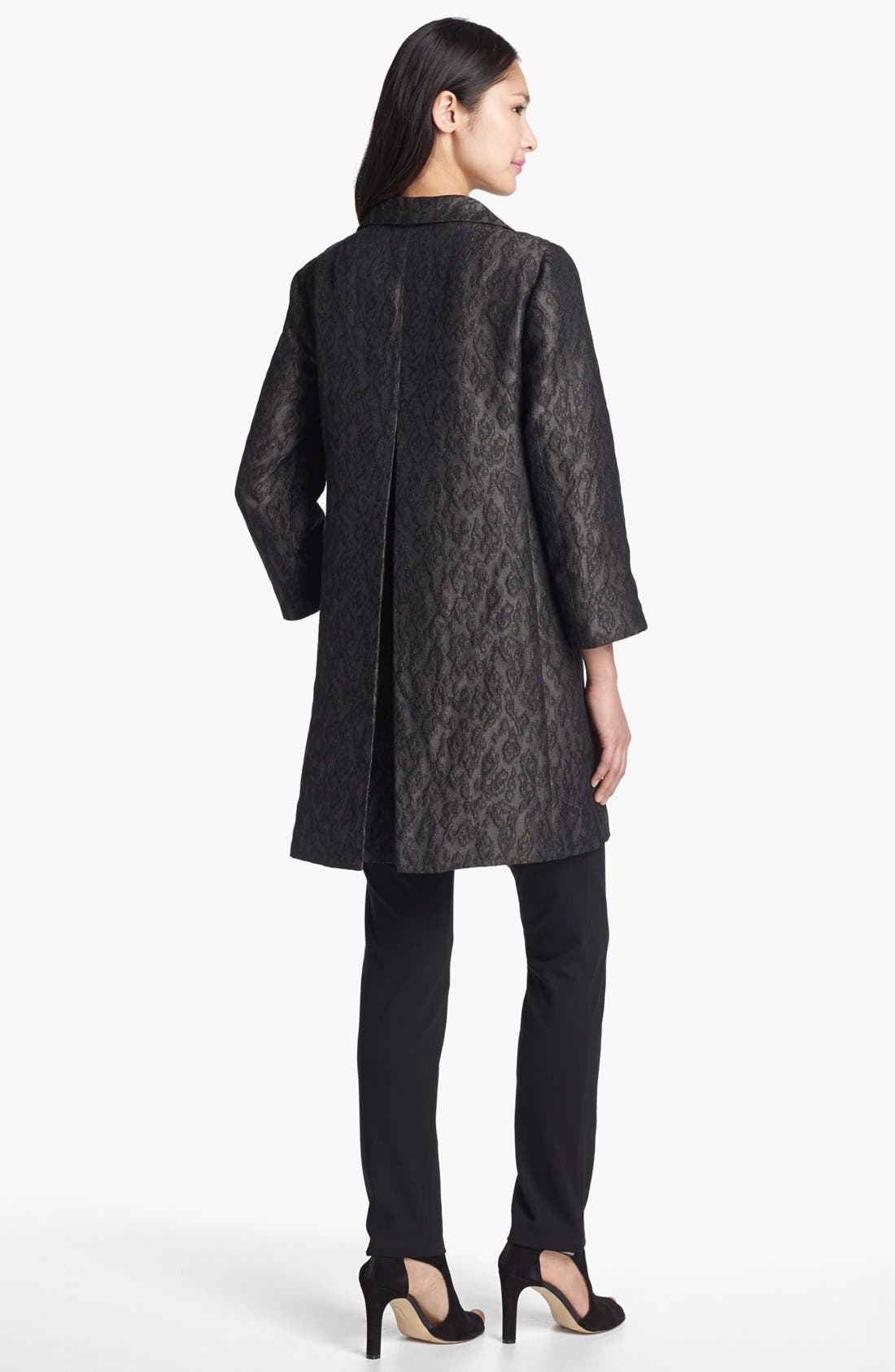Alternate Image 3  - Eileen Fisher 'Ikat Embers' Jacquard Jacket
