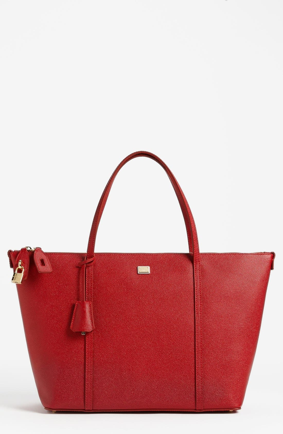 Alternate Image 1 Selected - Dolce&Gabbana 'Miss Escape - Classic' Leather Tote