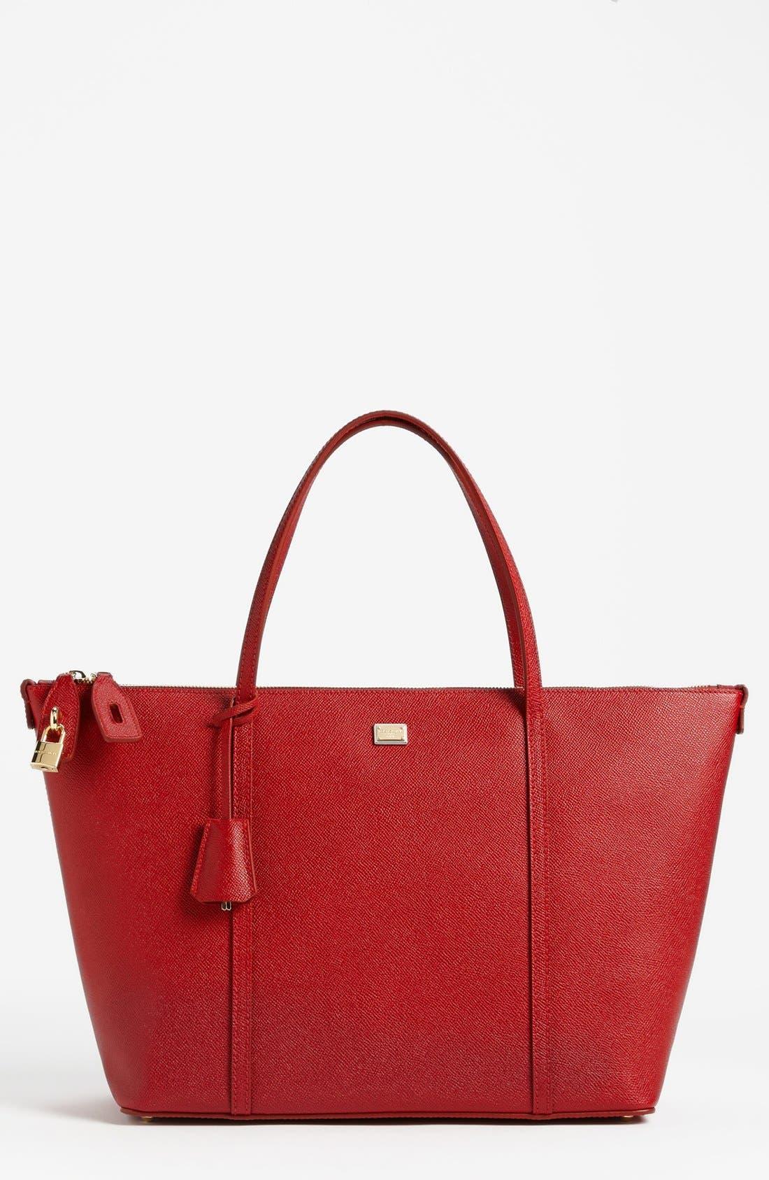 Main Image - Dolce&Gabbana 'Miss Escape - Classic' Leather Tote