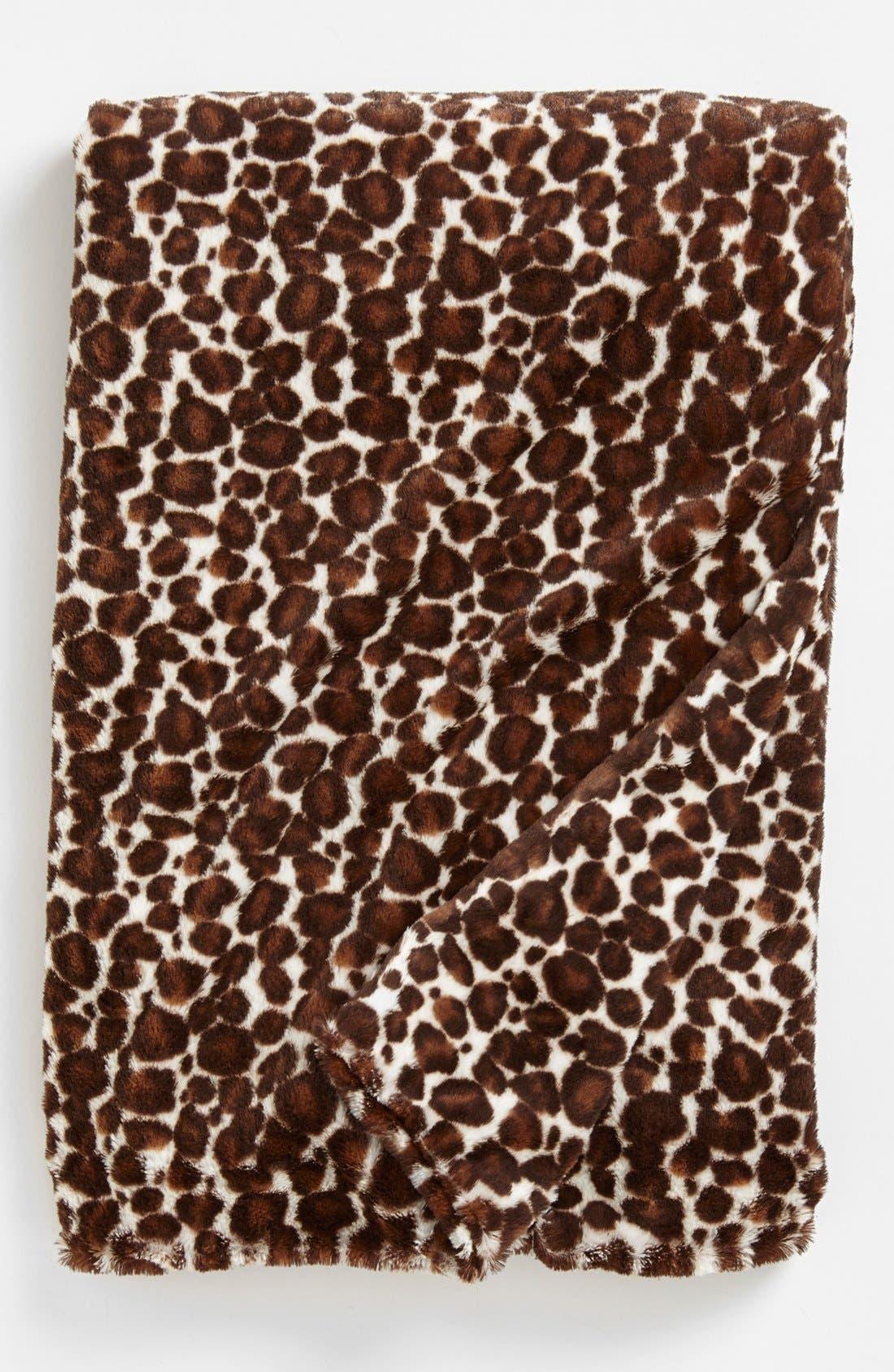 Main Image - Inphant Elefant Leopard Print Throw
