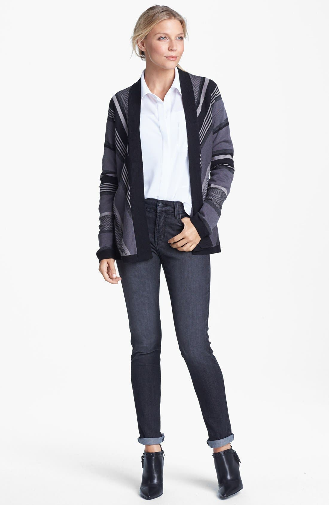 Alternate Image 4  - NYDJ 'Alina' Stretch Skinny Jeans