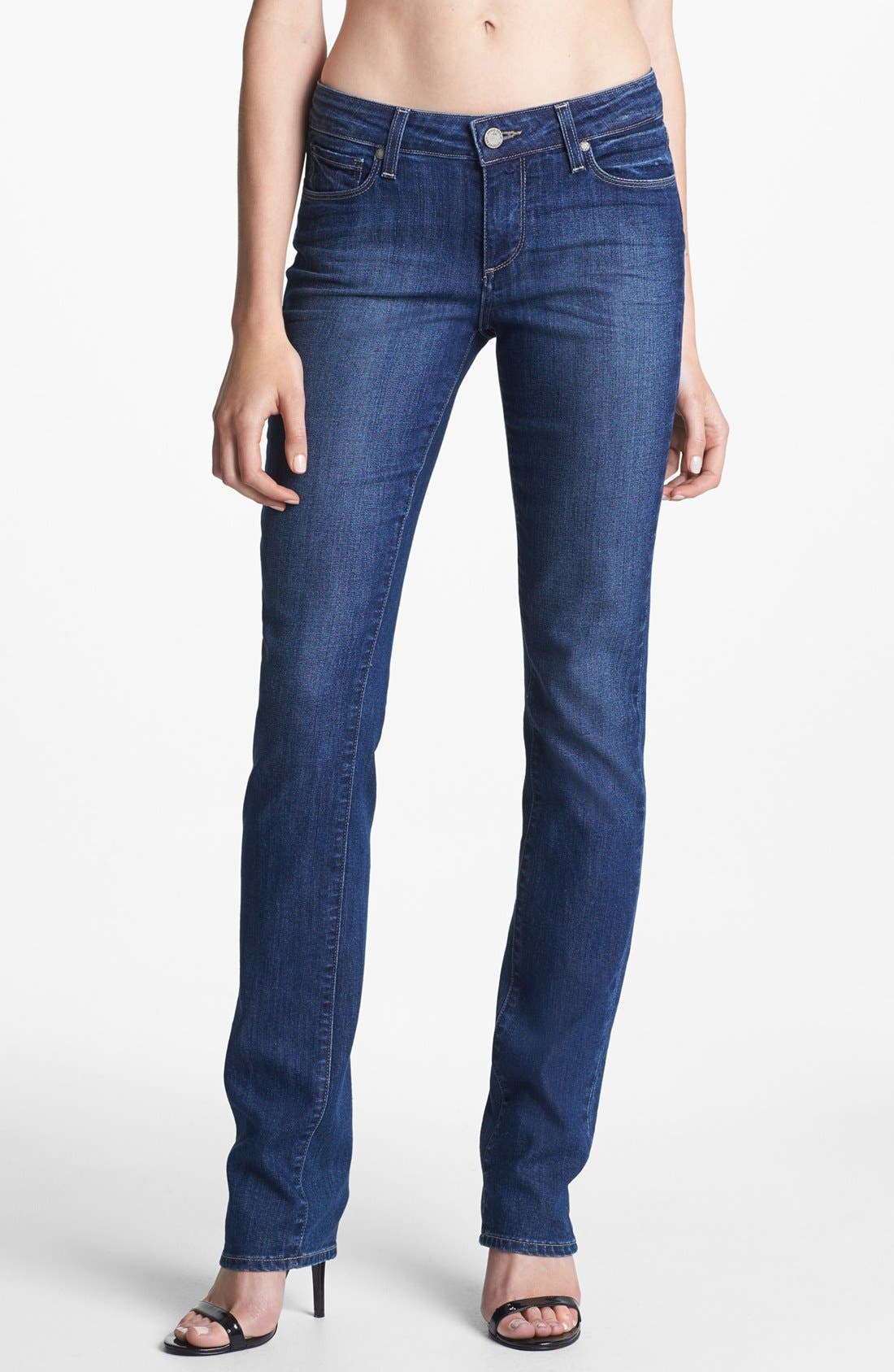 Alternate Image 1 Selected - Paige Denim 'Skyline' Straight Leg Stretch Jeans (Hadley)