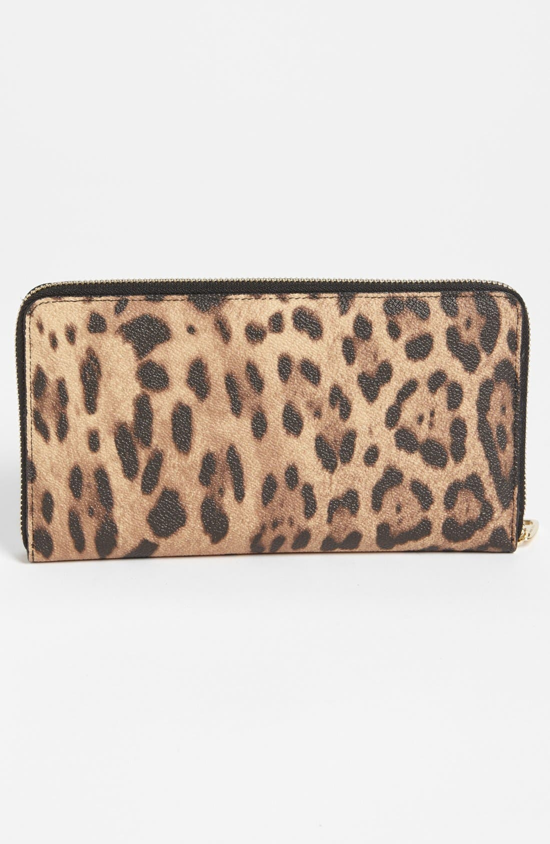 Alternate Image 3  - Dolce&Gabbana 'Extra Large' Checkbook Wallet