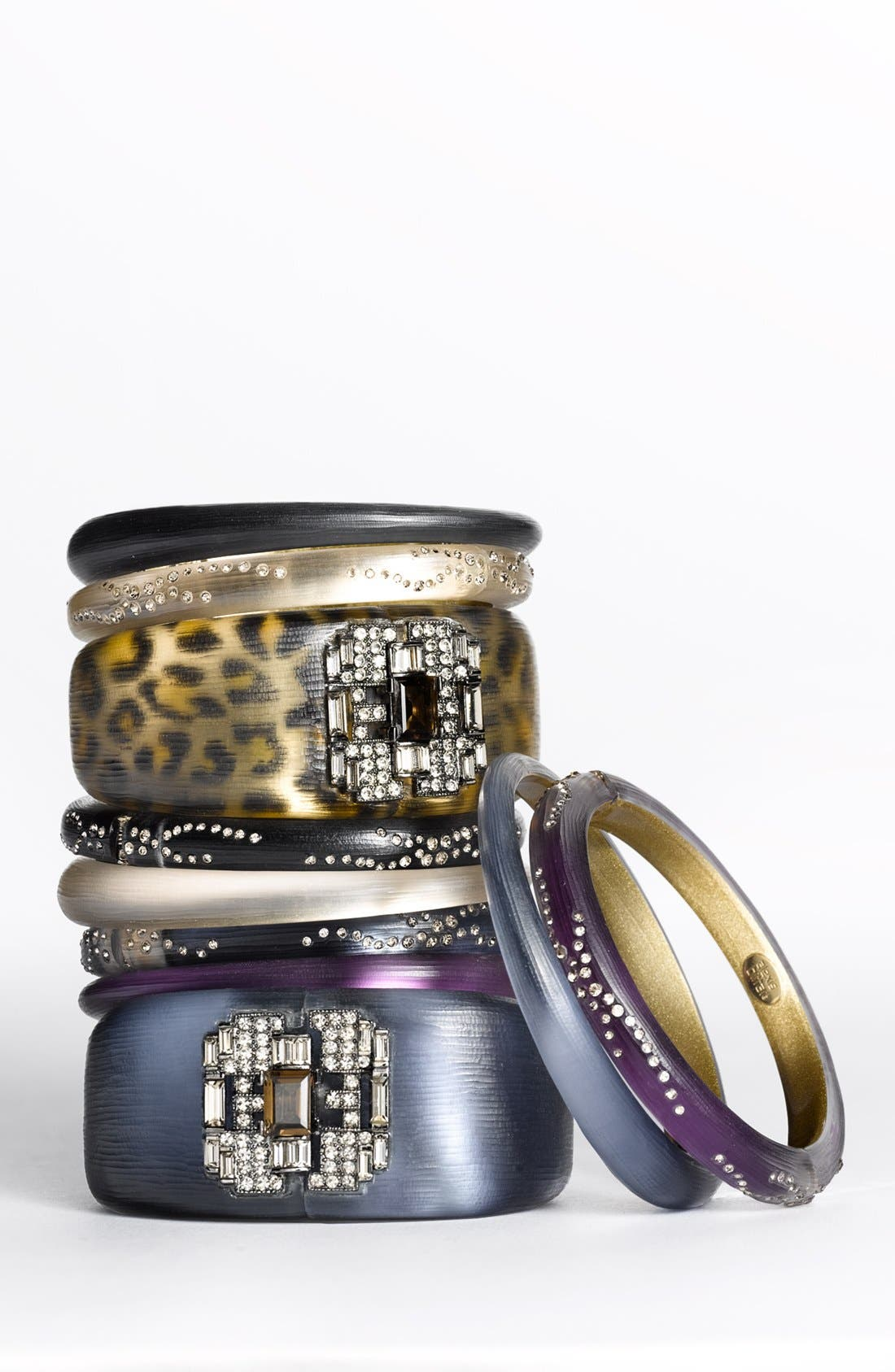 Alternate Image 2  - Alexis Bittar 'Lucite® - Deco' Hinged Bracelet (Nordstrom Exclusive)