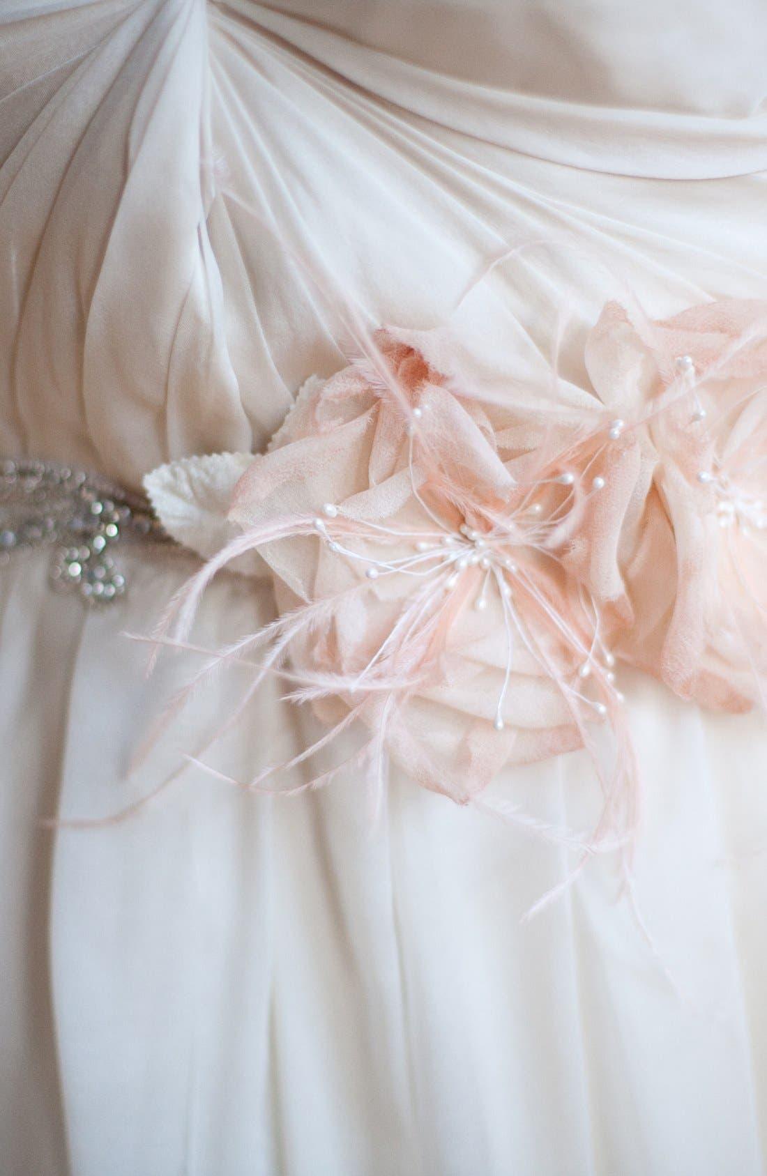Alternate Image 3  - Serephine 'Rosalie' Bridal Sash