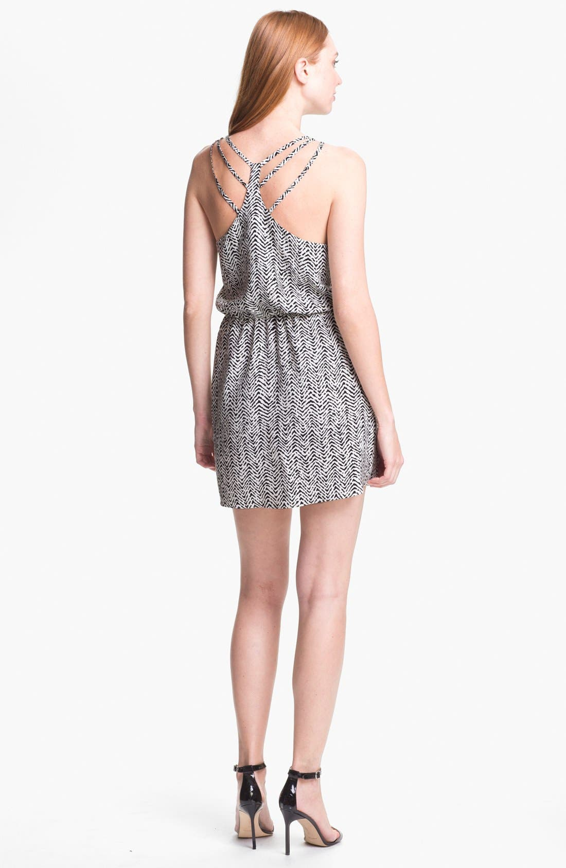 Alternate Image 2  - Parker 'Daria' Silk Blouson Dress