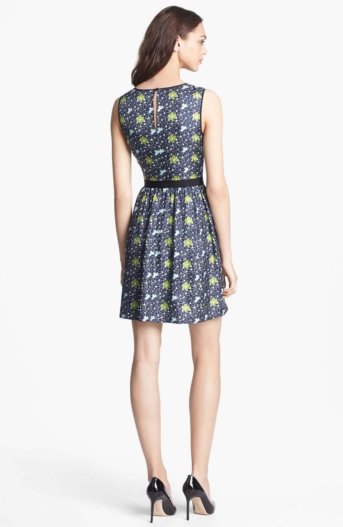Alternate Image 2  - Miss Wu Packed Floral Print Dress (Nordstrom Exclusive)