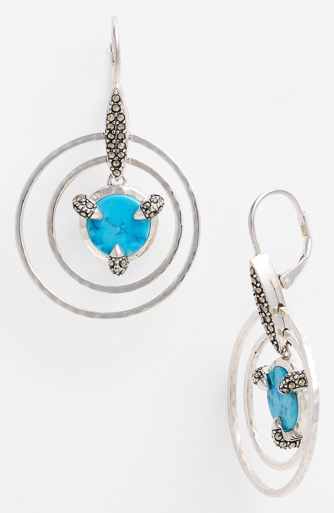 Alternate Image 1 Selected - Judith Jack 'Coin' Drop Earrings