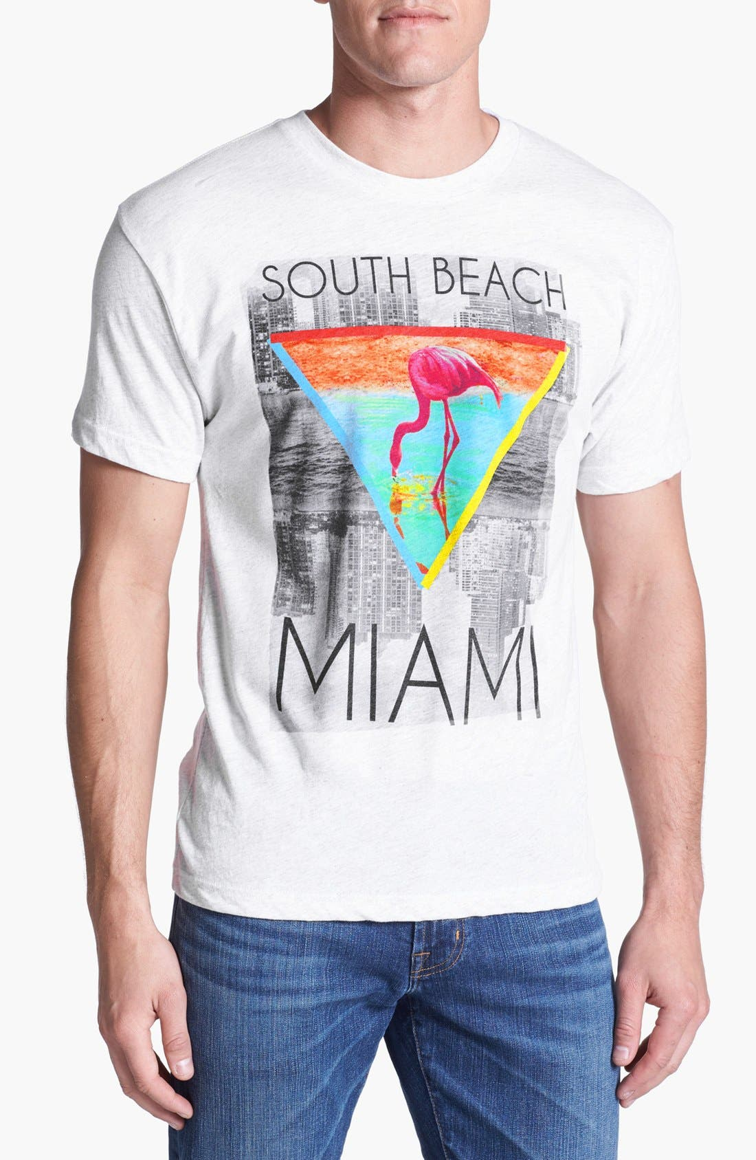 Alternate Image 1 Selected - Bowery Supply 'South Beach' Graphic T-Shirt