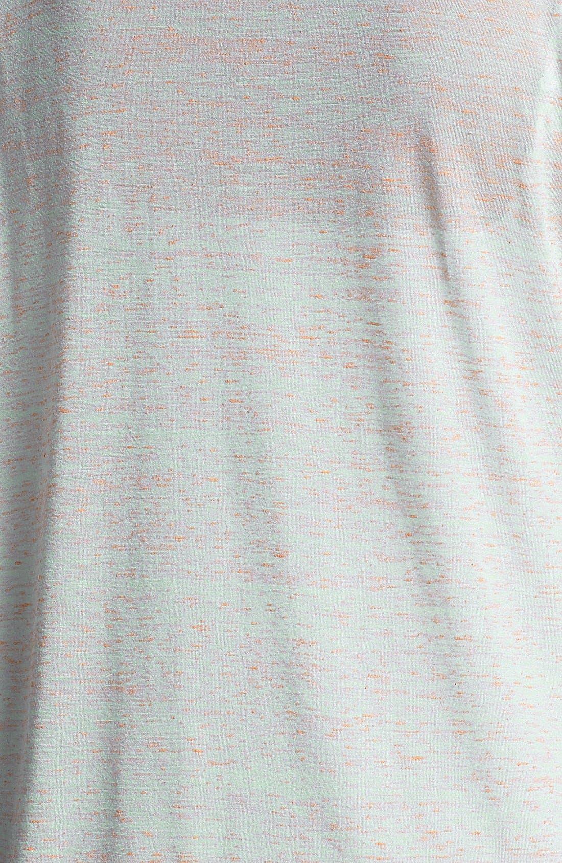 Alternate Image 3  - Pleione Contrast Trim Wedge Top (Plus Size)