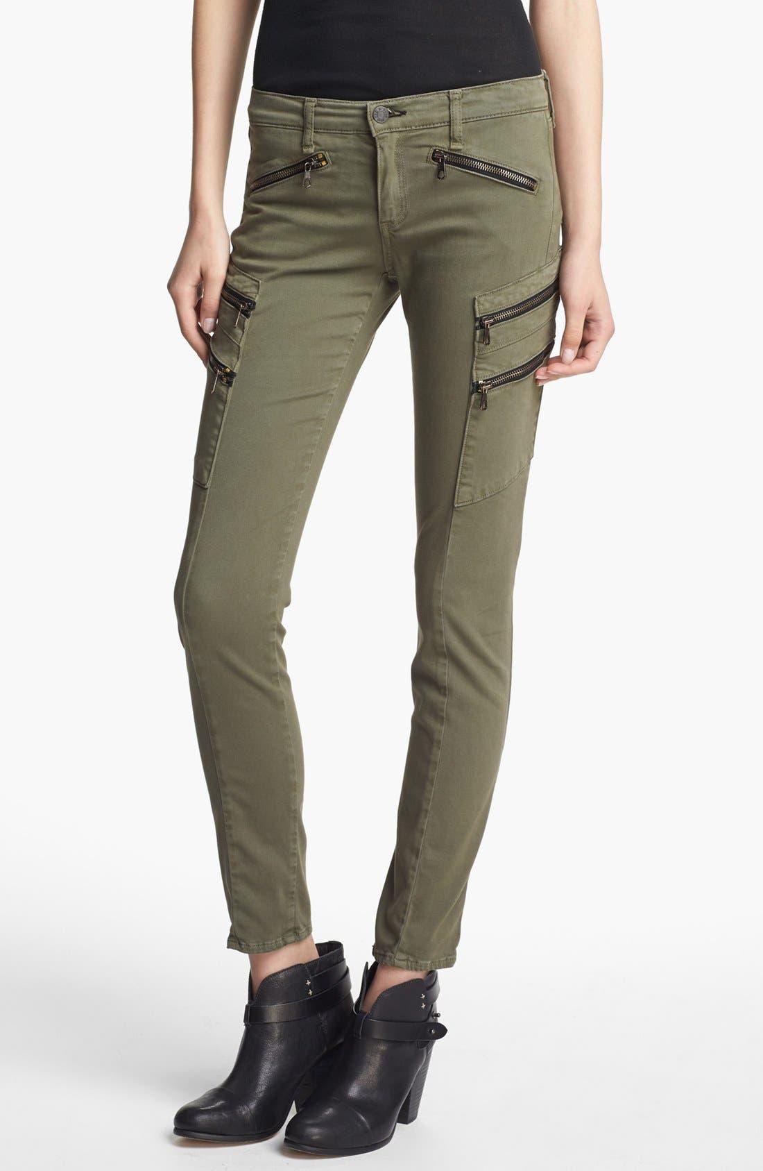 Alternate Image 1 Selected - rag & bone/JEAN 'Larit' Skinny Cargo Jeans