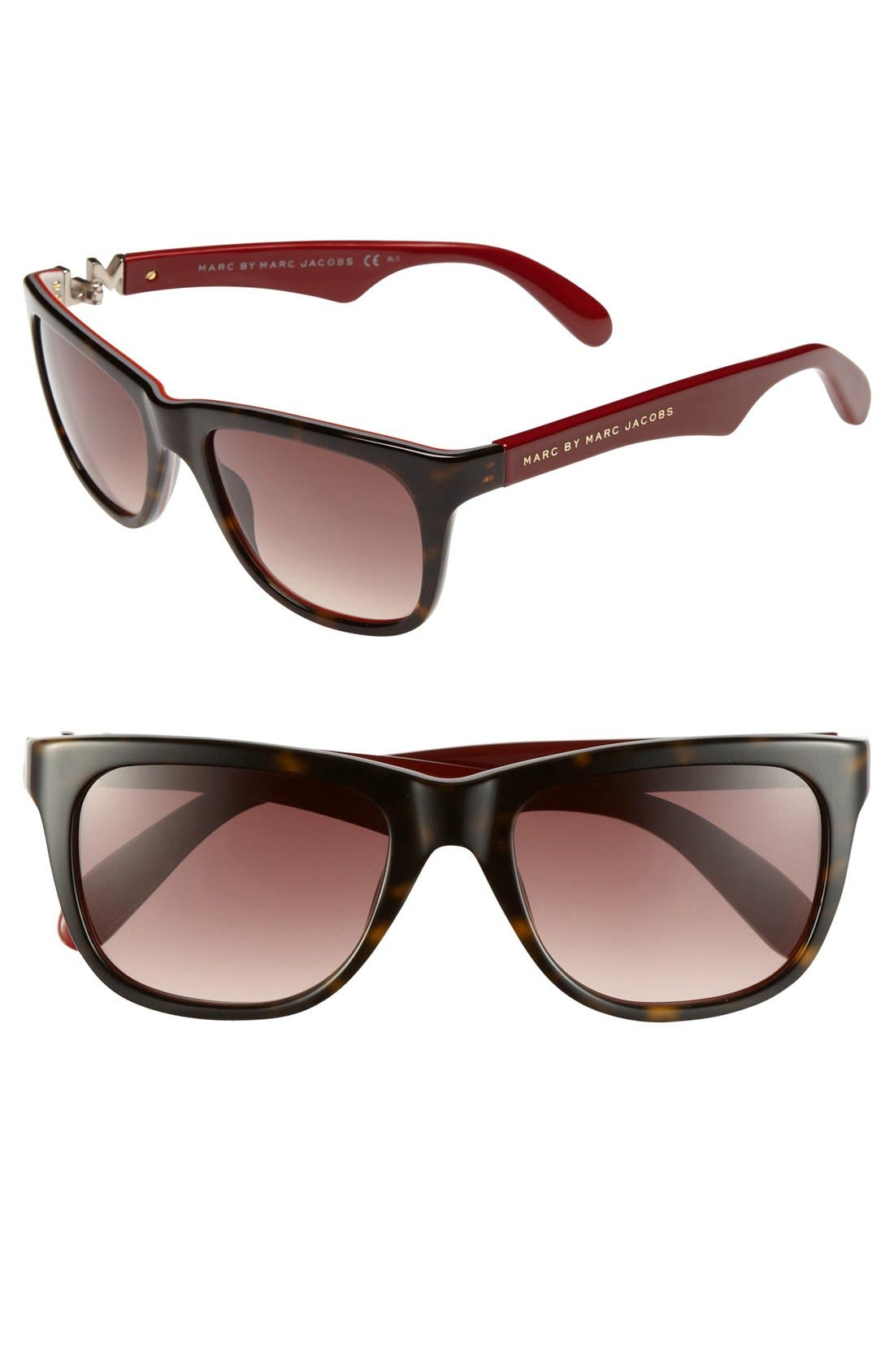 Main Image - MARC BY MARC JACOBS 52mm Sunglasses
