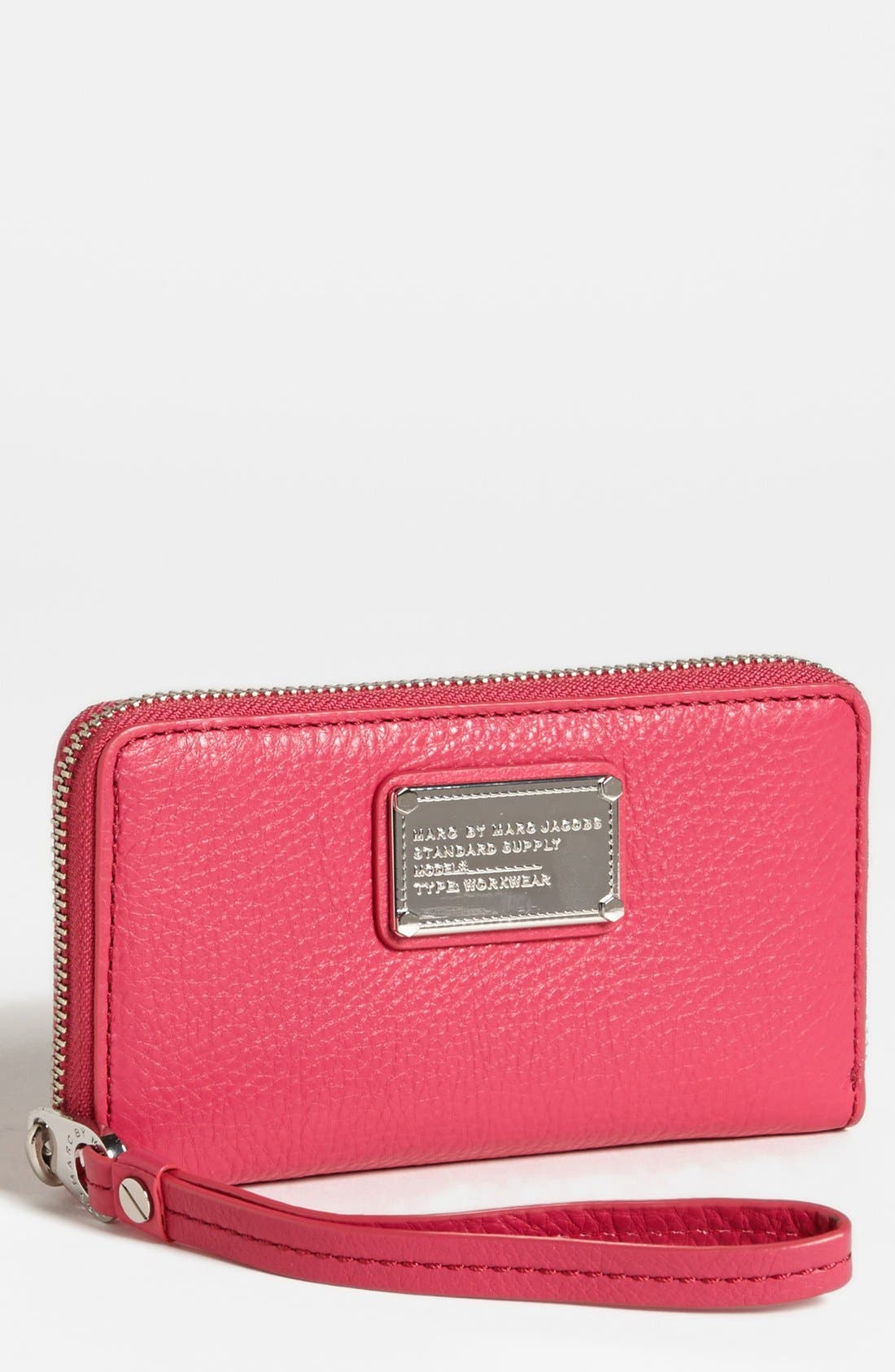 Alternate Image 1 Selected - MARC BY MARC JACOBS 'Classic Q - Wingman' iPhone 5 & 5S Wristlet
