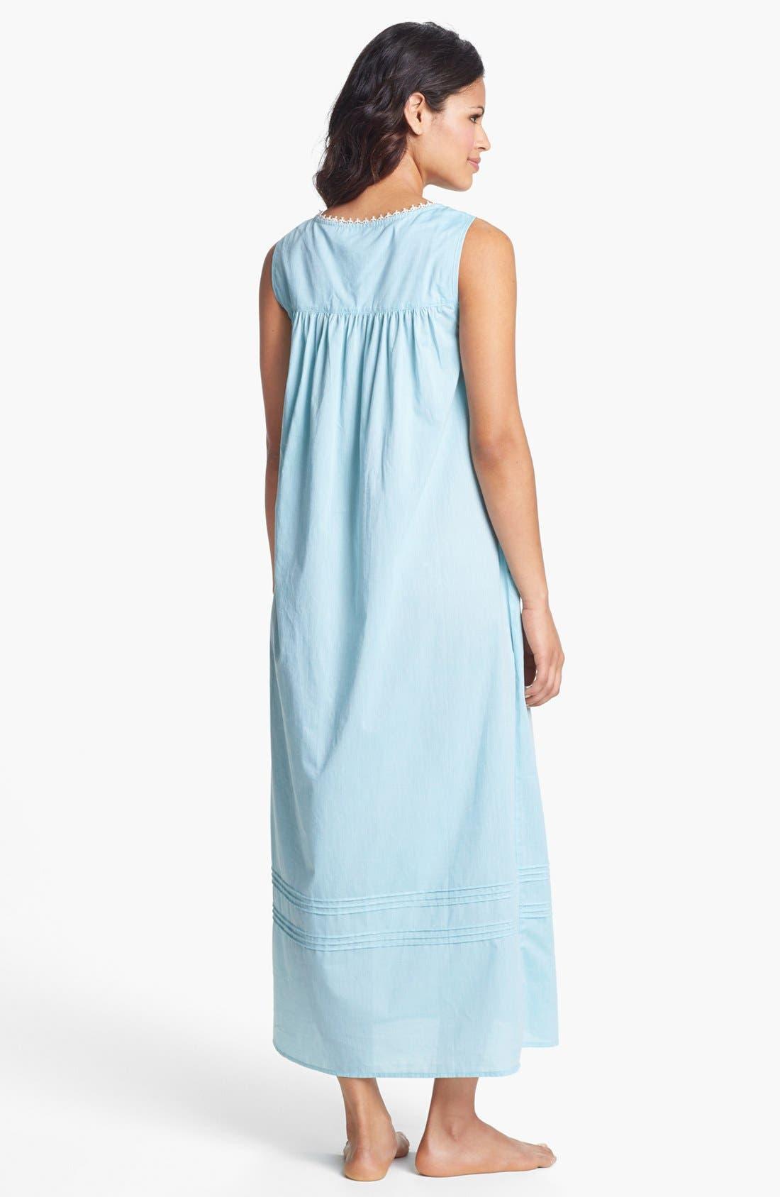 Alternate Image 2  - Eileen West 'Ocean Mist' Nightgown