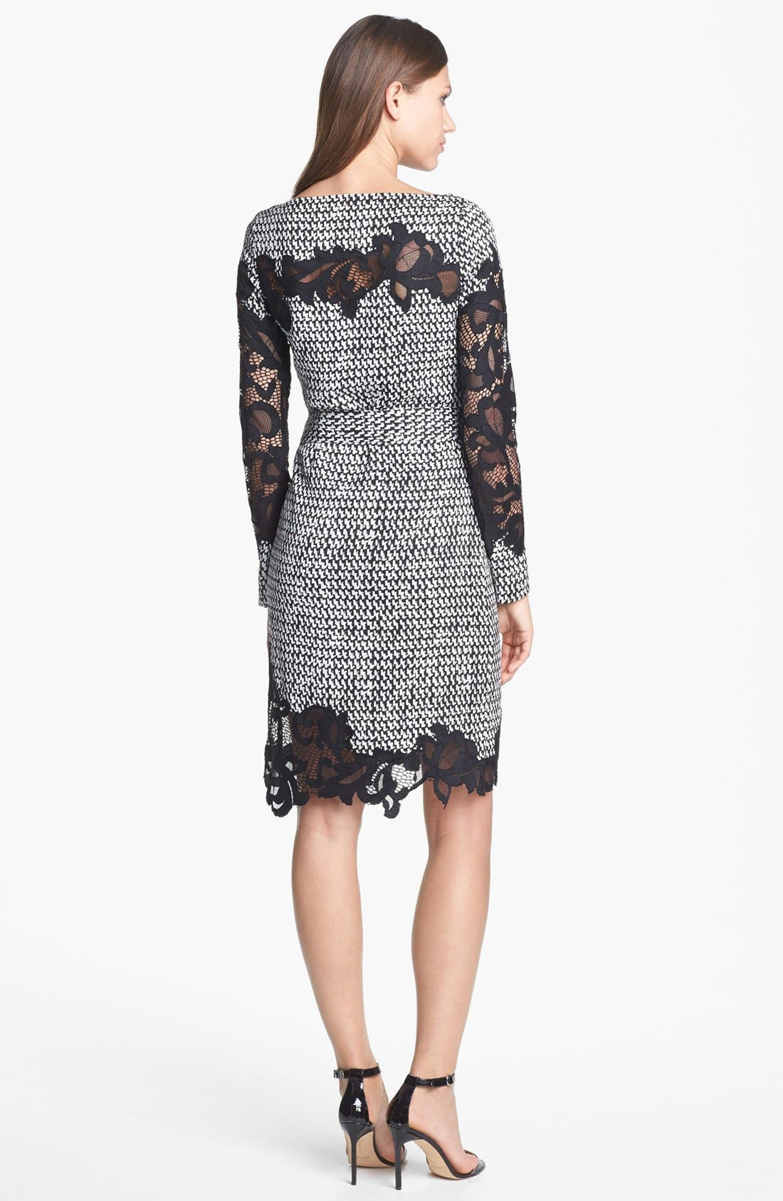 Alternate Image 2  - Diane von Furstenberg 'Ernestina' Print Stretch Silk Dress