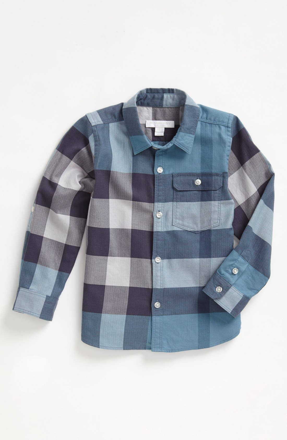 Main Image - Burberry 'Mini Hadley' Sport Shirt (Little Boys & Big Boys)