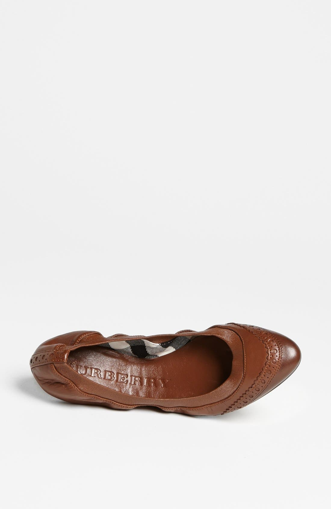 Alternate Image 4  - Burberry 'Berryfield' Flat (Online Only)
