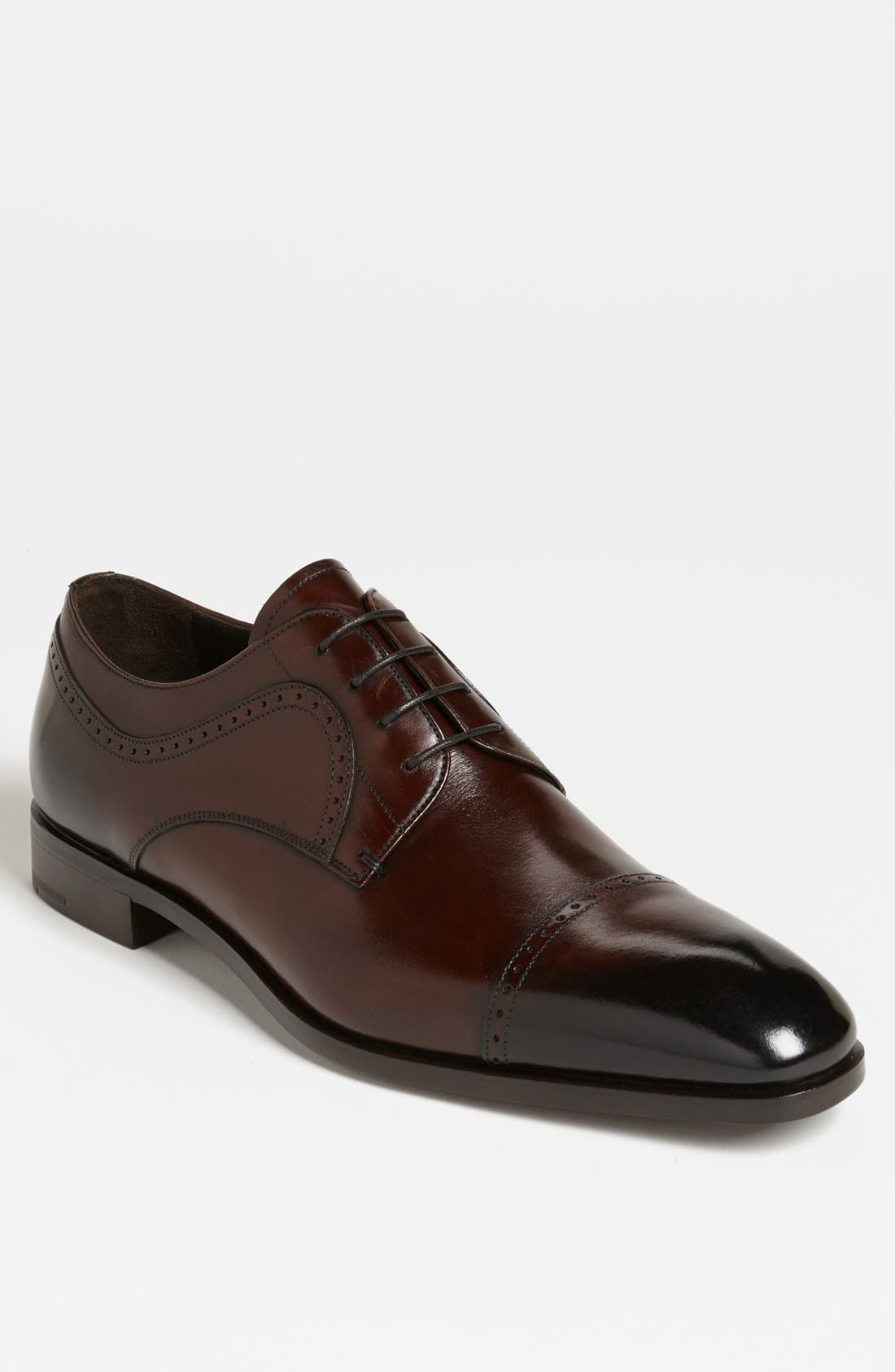 Alternate Image 1 Selected - Prada Burnished Derby