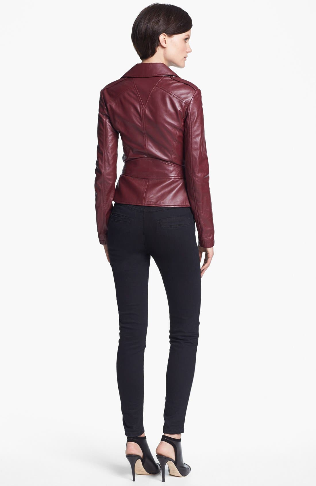 Alternate Image 3  - McQ by McQueen 'Congo' Leather Biker Jacket
