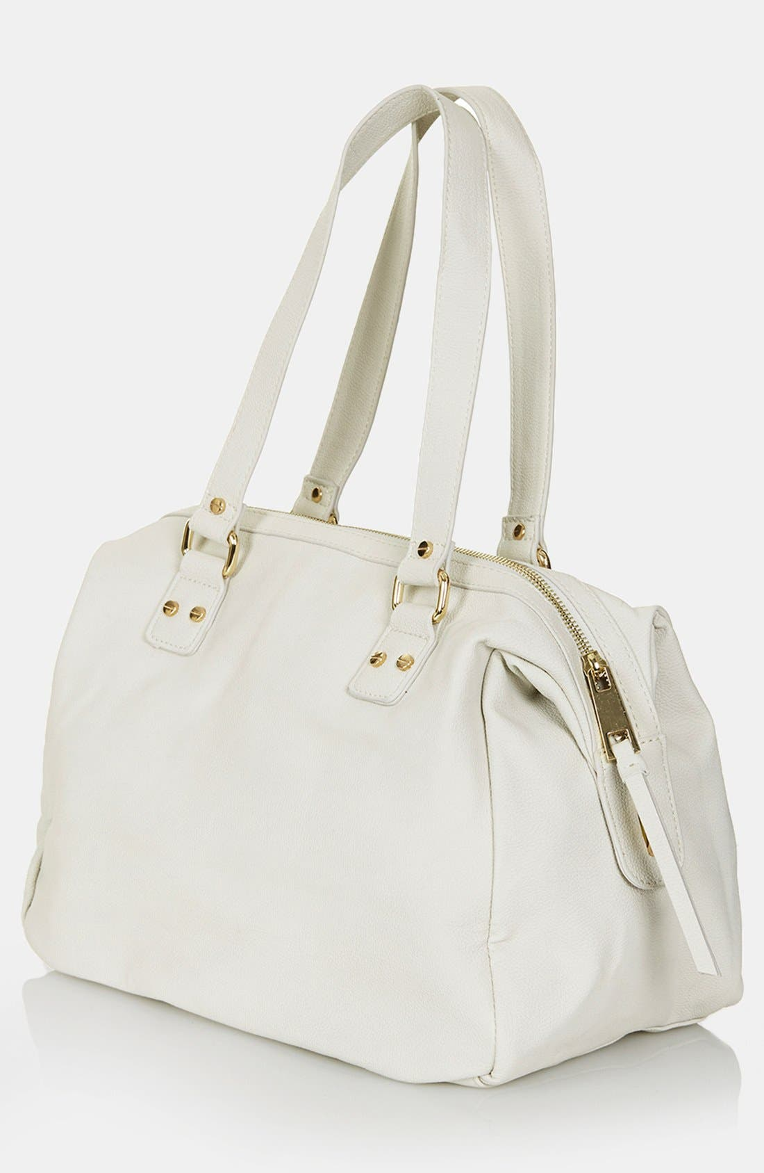 Alternate Image 3  - Topshop Double Zip Satchel