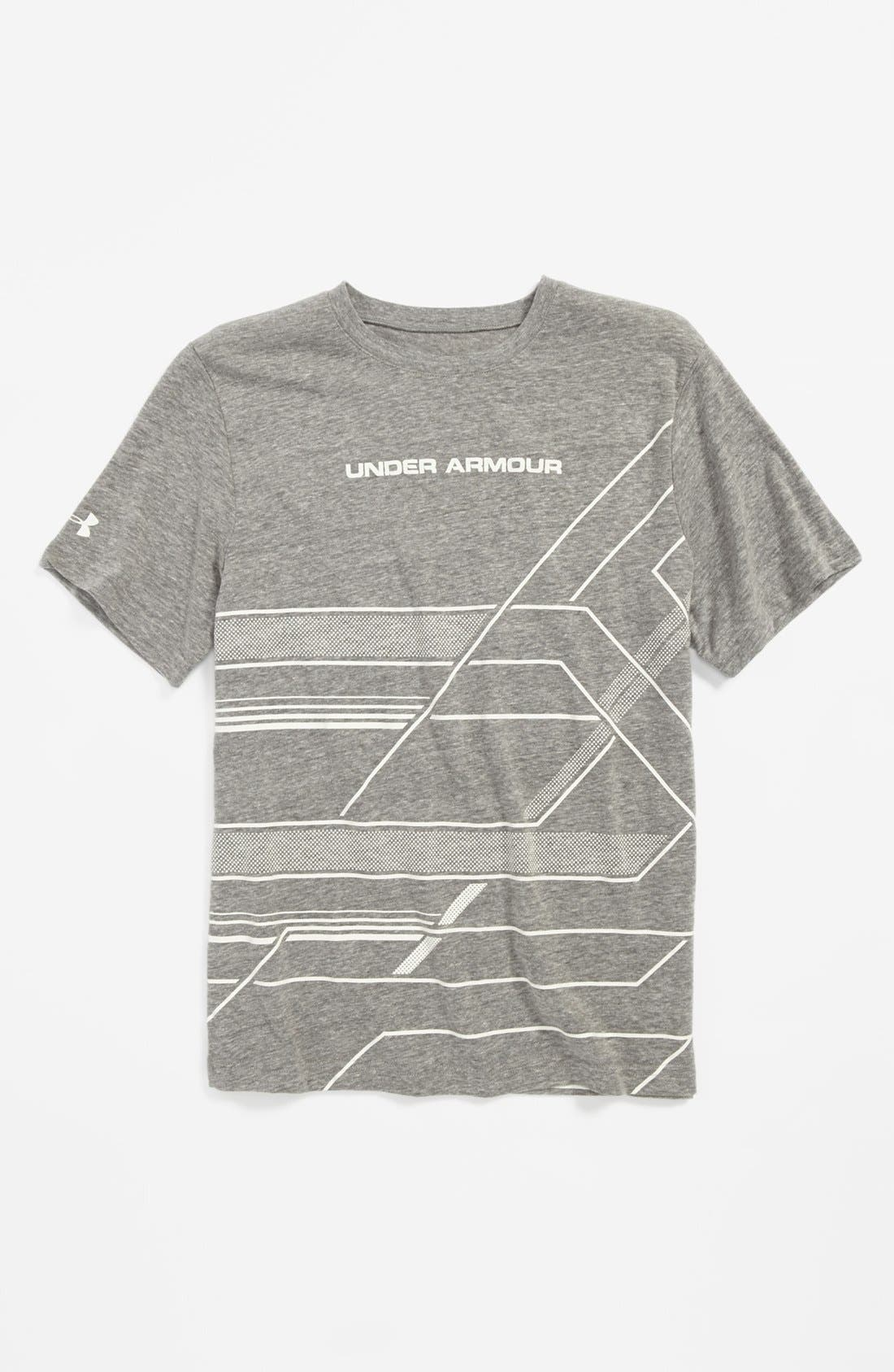 Alternate Image 1 Selected - Under Armour 'Domineer' T-Shirt (Big Boys)
