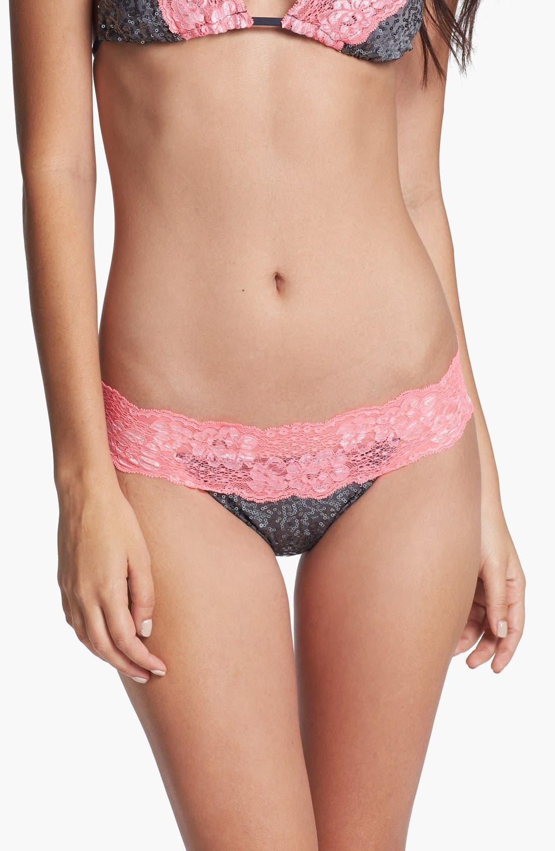 Alternate Image 2  - Beach Bunny 'Lady Lace' Bikini Bottoms
