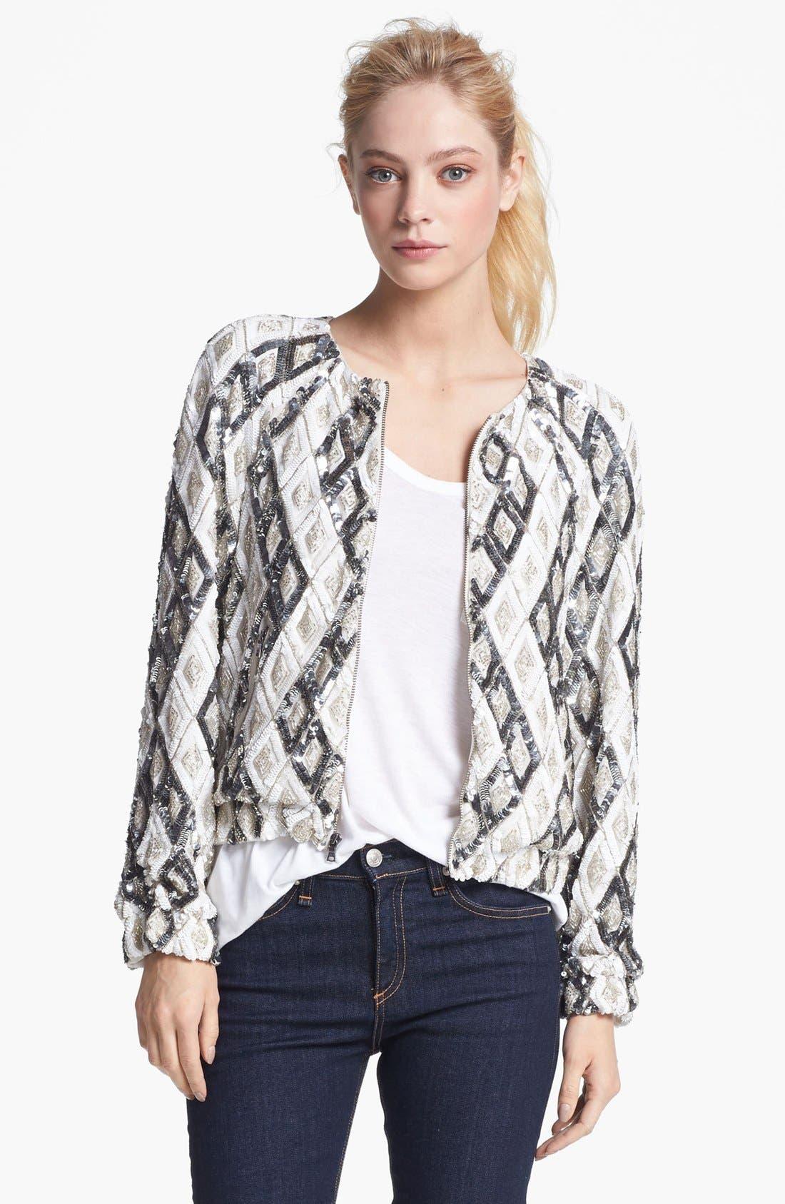 Alternate Image 1 Selected - Alice + Olivia 'Maxine' Embellished Jacket