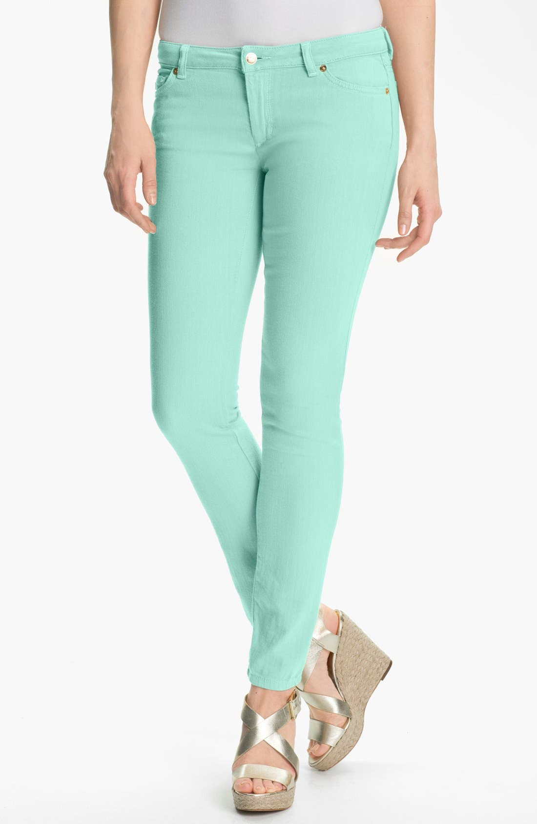 Main Image - MICHAEL Michael Kors Color Skinny Jeans