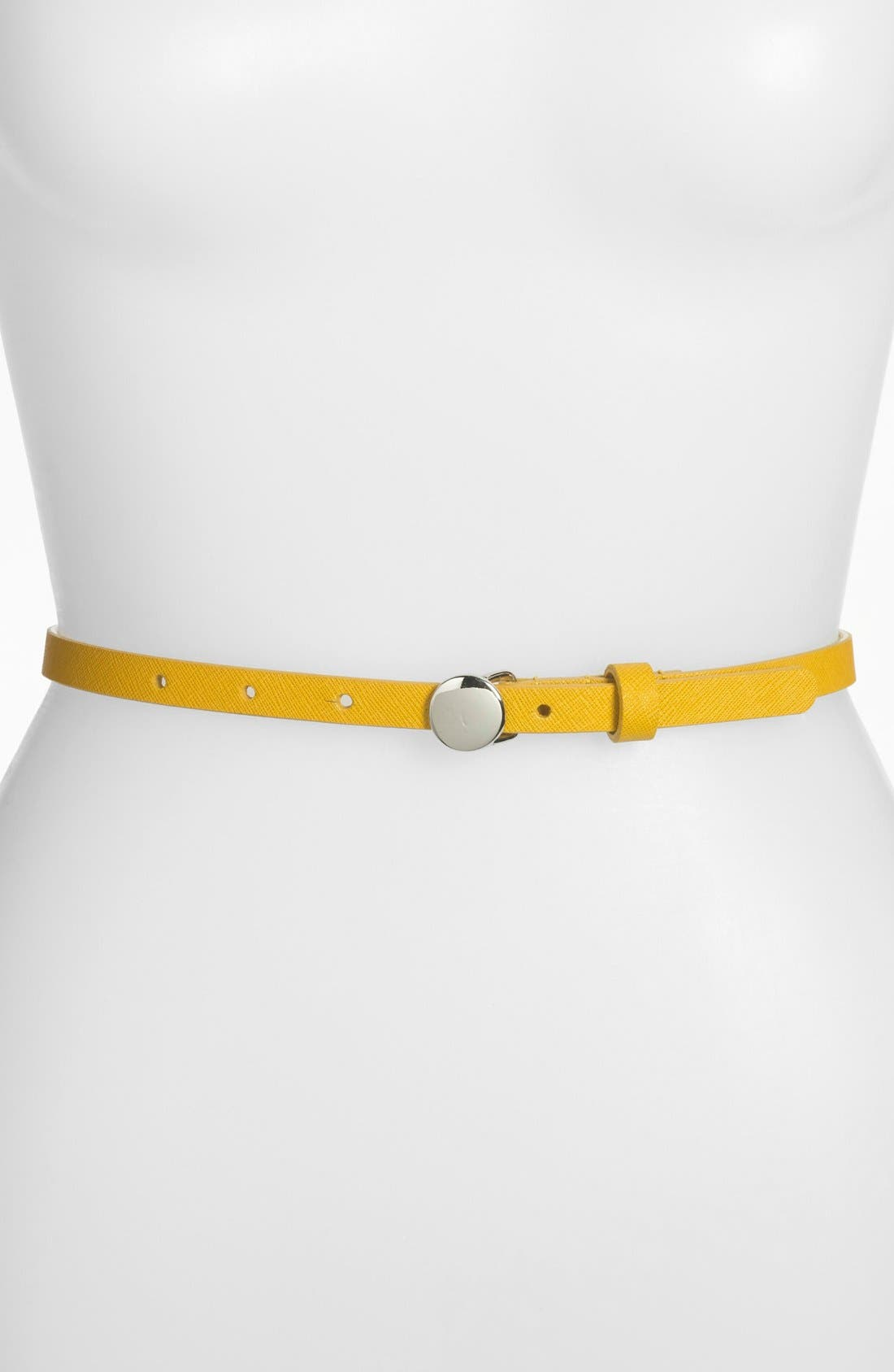 Main Image - Lodis Saffiano Leather Belt