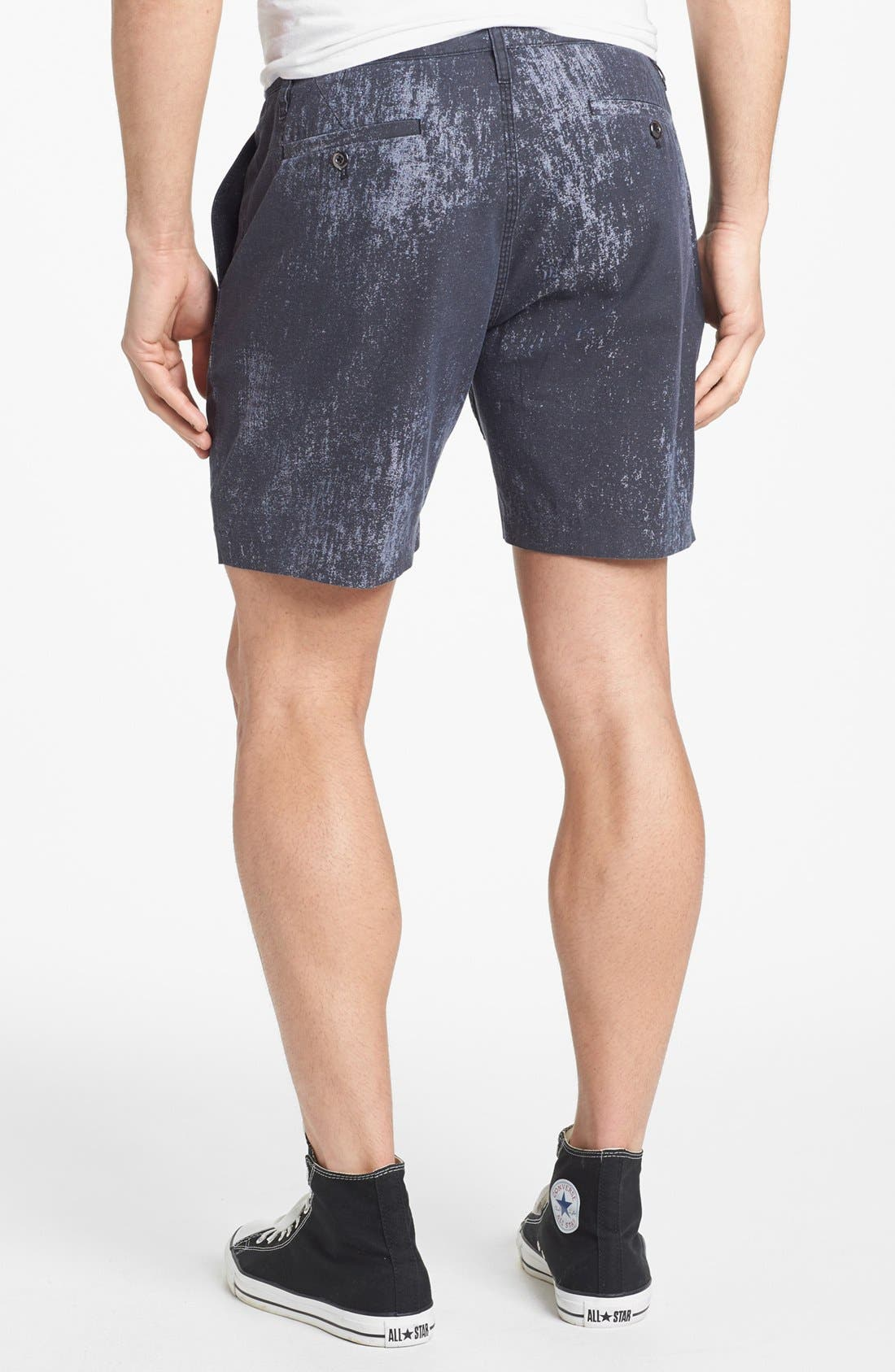 Alternate Image 2  - MARC BY MARC JACOBS Painted Chambray Shorts