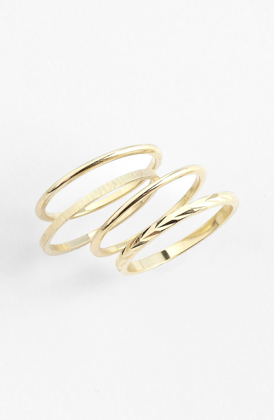 Alternate Image 1 Selected - Bonnie Jonas Midi Rings (Set of 4)
