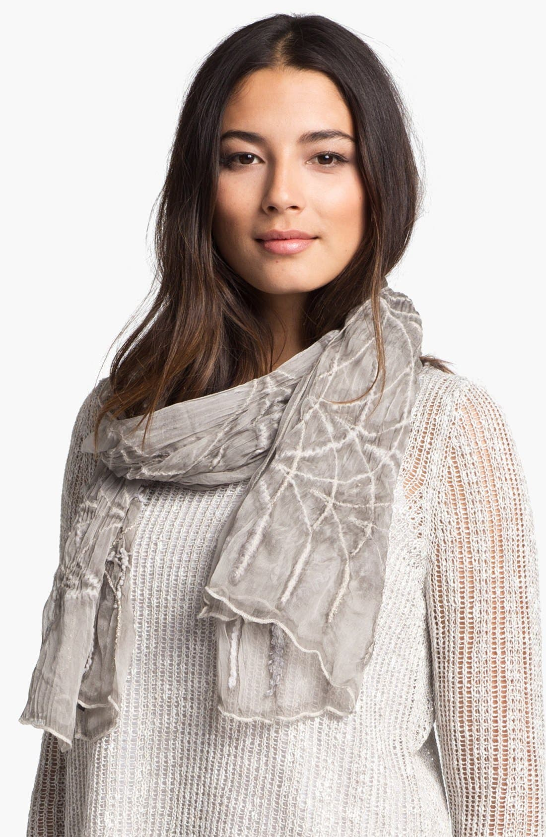Alternate Image 1 Selected - Eileen Fisher Silk Scarf