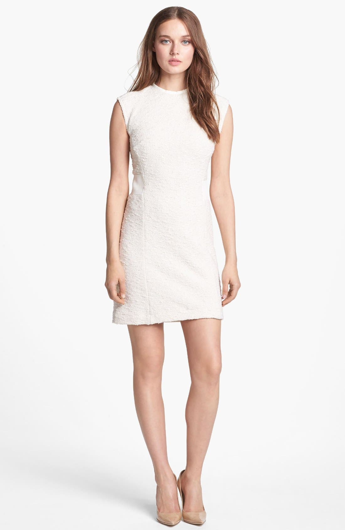 Alternate Image 1 Selected - Rebecca Taylor Bouclé Sheath Dress