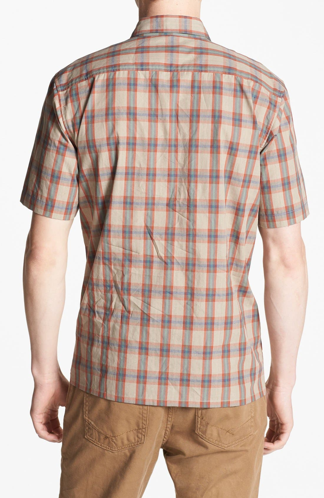 Alternate Image 3  - Brixton 'Griffin' Plaid Woven Shirt