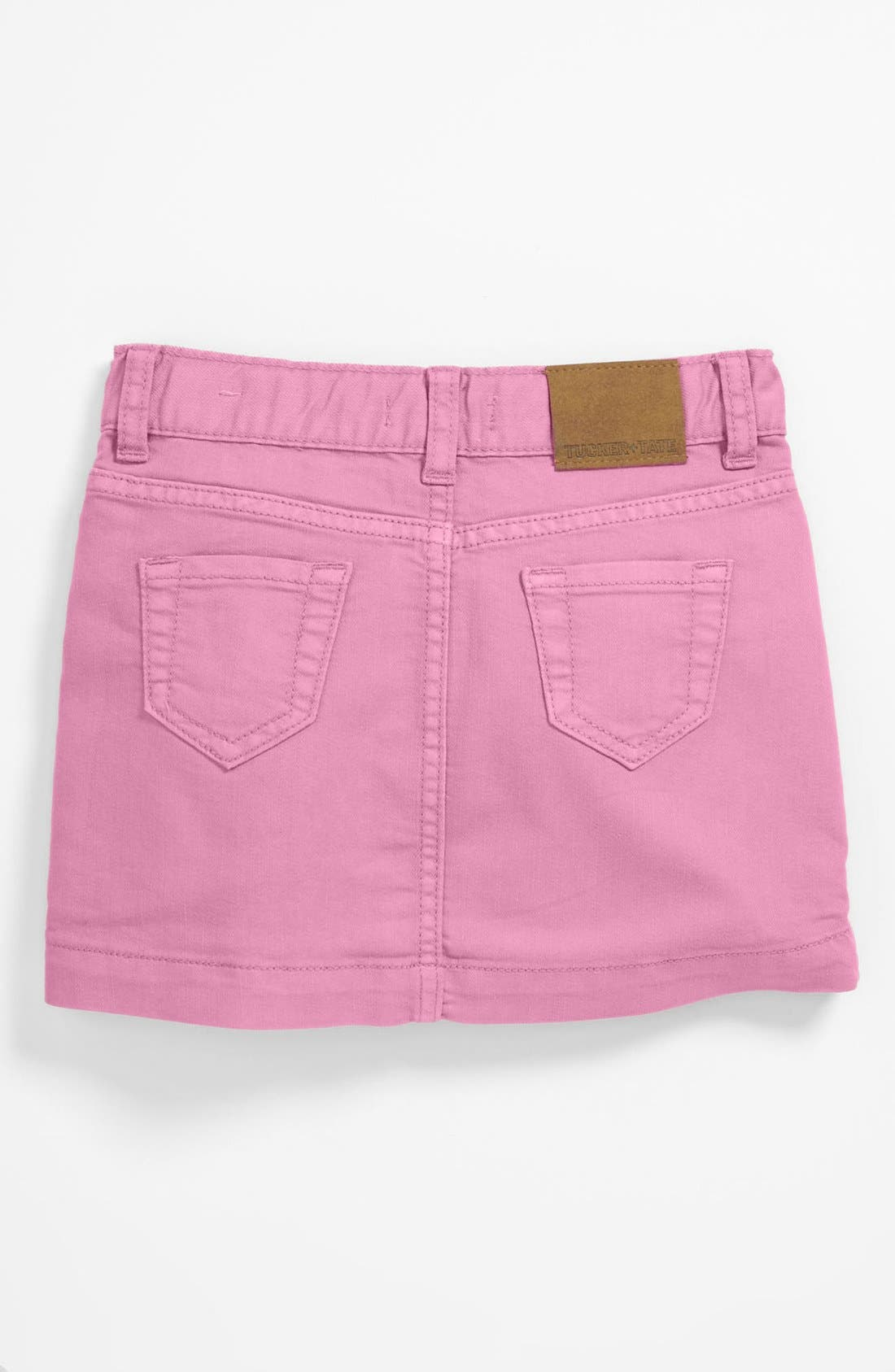 Alternate Image 2  - Tucker + Tate Denim Skirt (Big Girls)