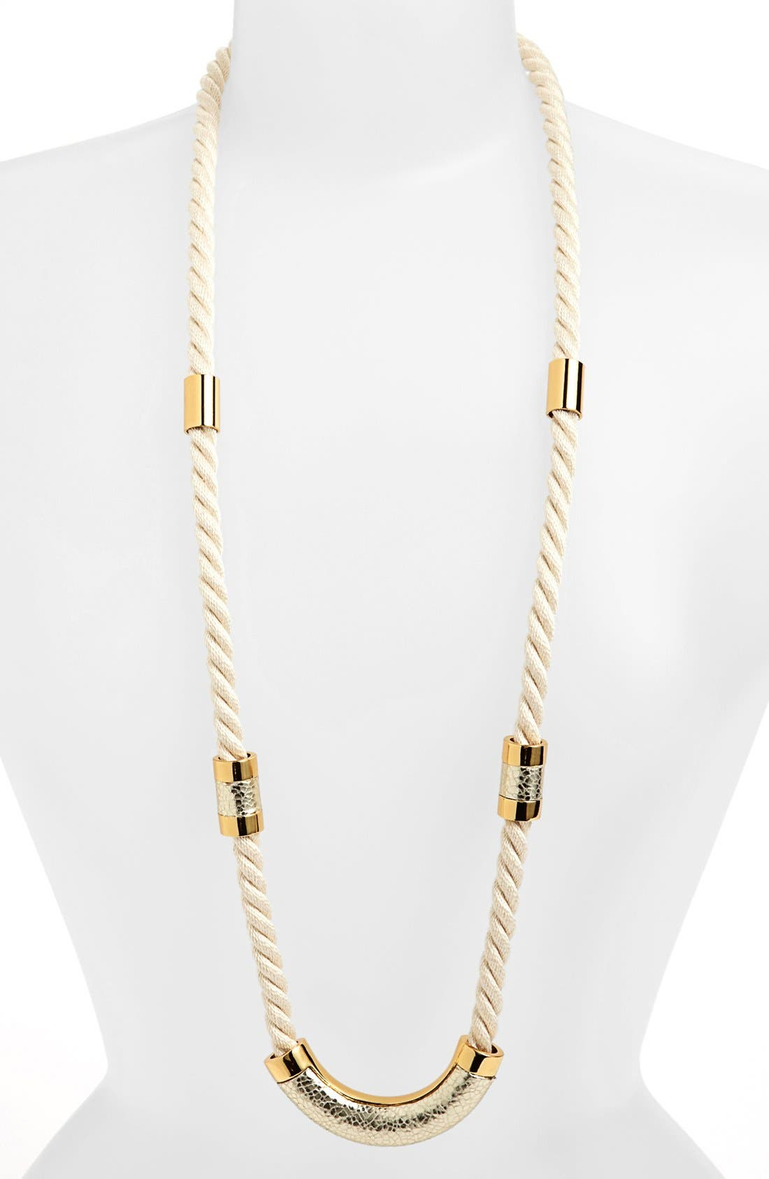 Alternate Image 2  - Vince Camuto 'Rope Royalty' Long Station Necklace