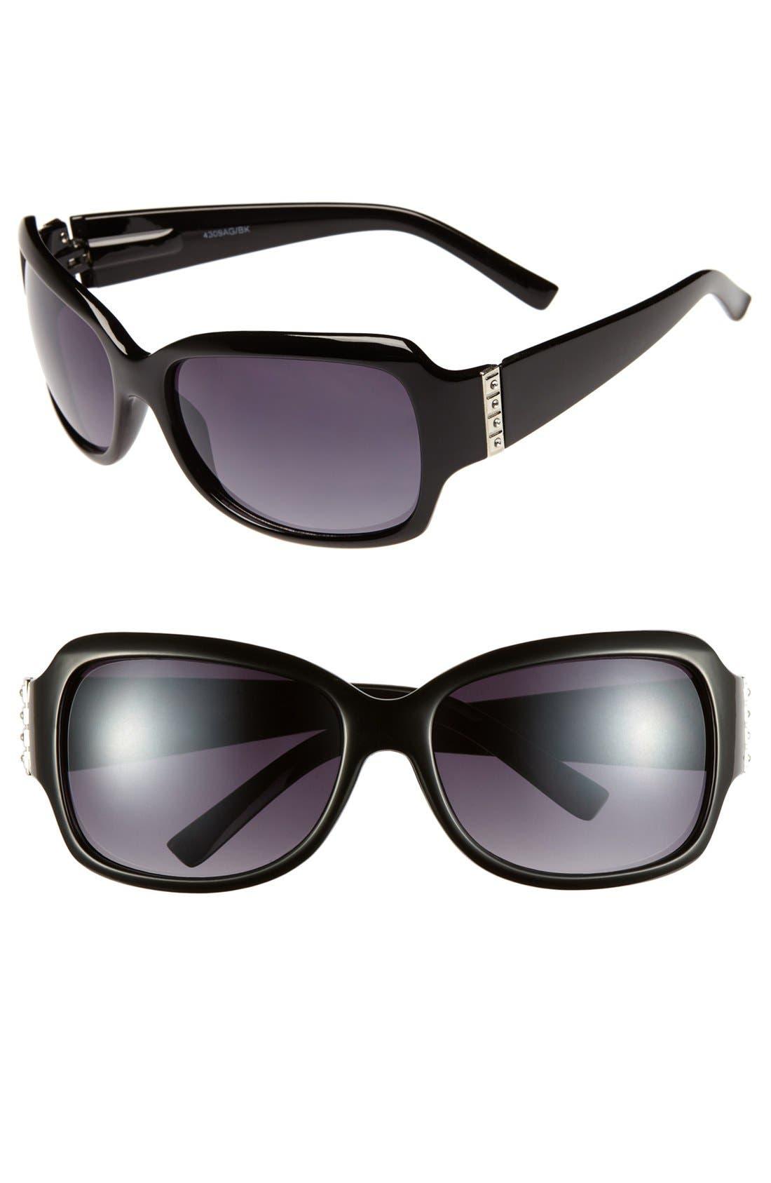 Alternate Image 1 Selected - KW 'Katie' Sunglasses (Juniors)
