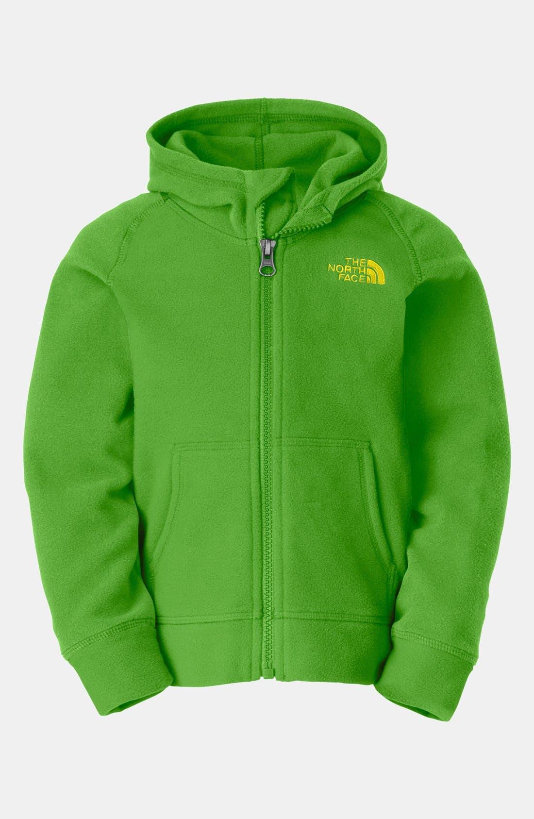 Main Image - The North Face 'Glacier' Polartec® Fleece Hoodie (Toddler Boys)